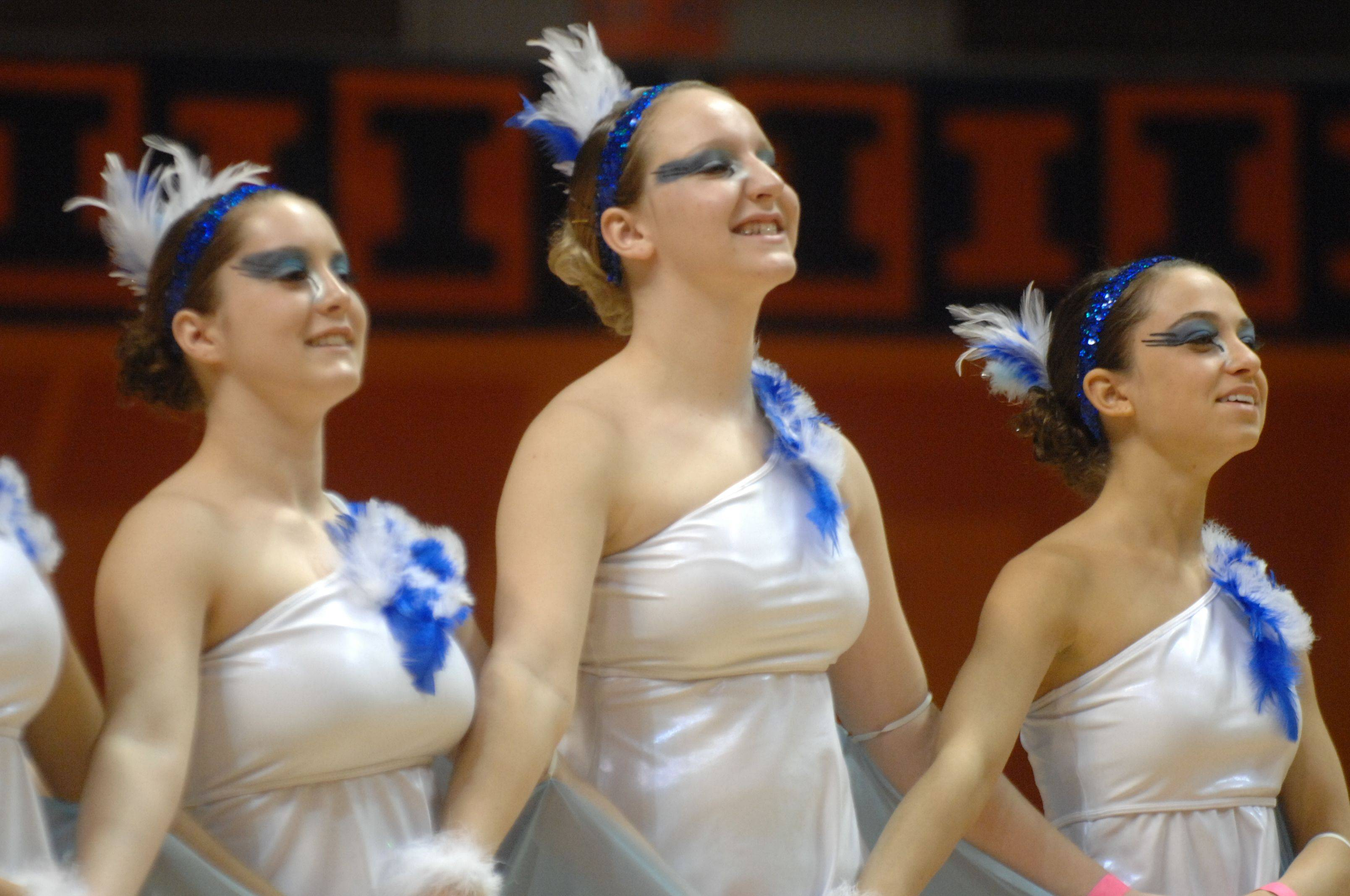 Illinois Drill Team Association State Finals at U of I in Champaign.