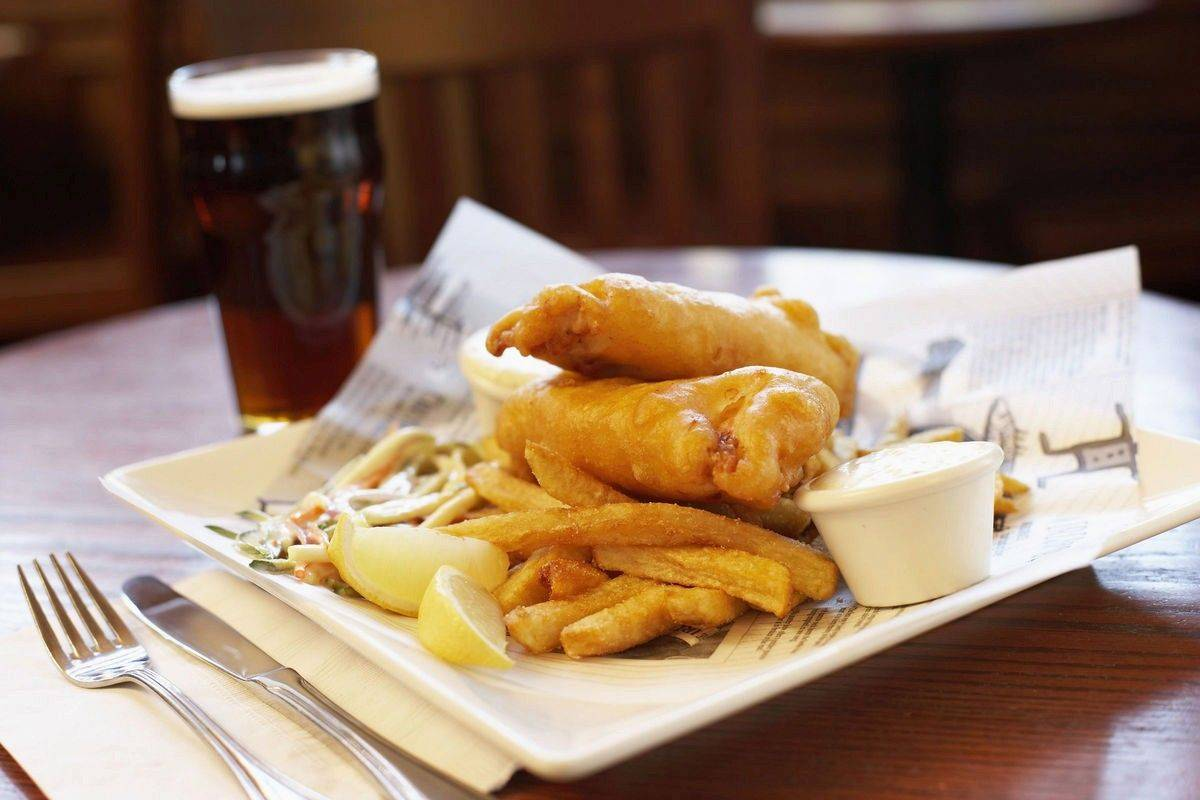 Dig in to as much fish and chips as you can handle at the Knights of Columbus Hall in Arlington Heights.