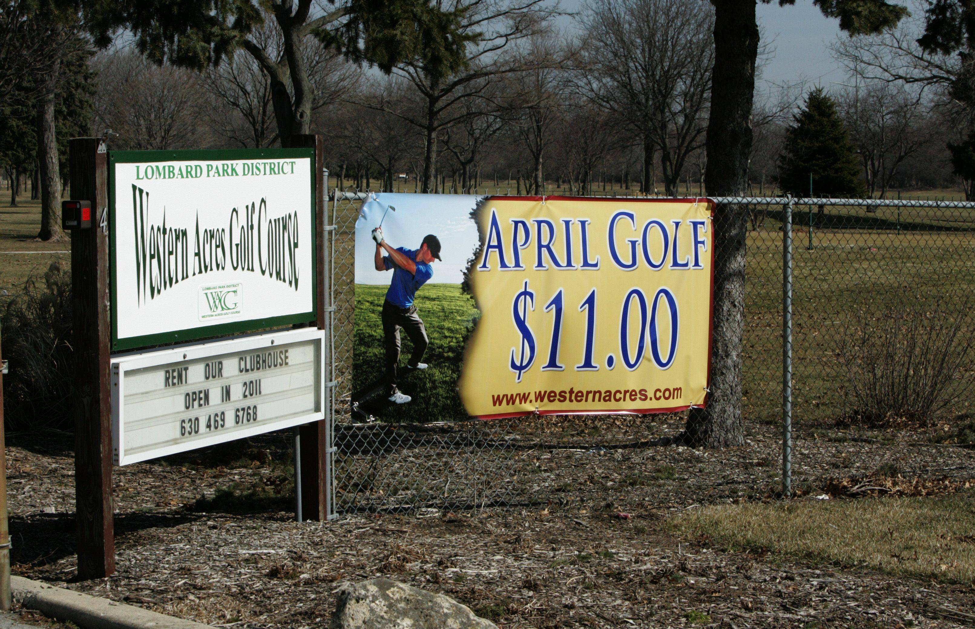 Several Lombard park board candidates are hopeful discounted green fees in April at Western Acres Golf Course will attract more golfers and help the course become profitable.