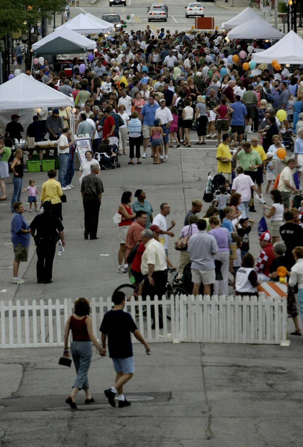 The Mane Event, a downtown Arlington Heights block party held the weekend of the Arlington Million, will continue despite news that Arlington Park is dropping its sponsorship of the event, organizers say.