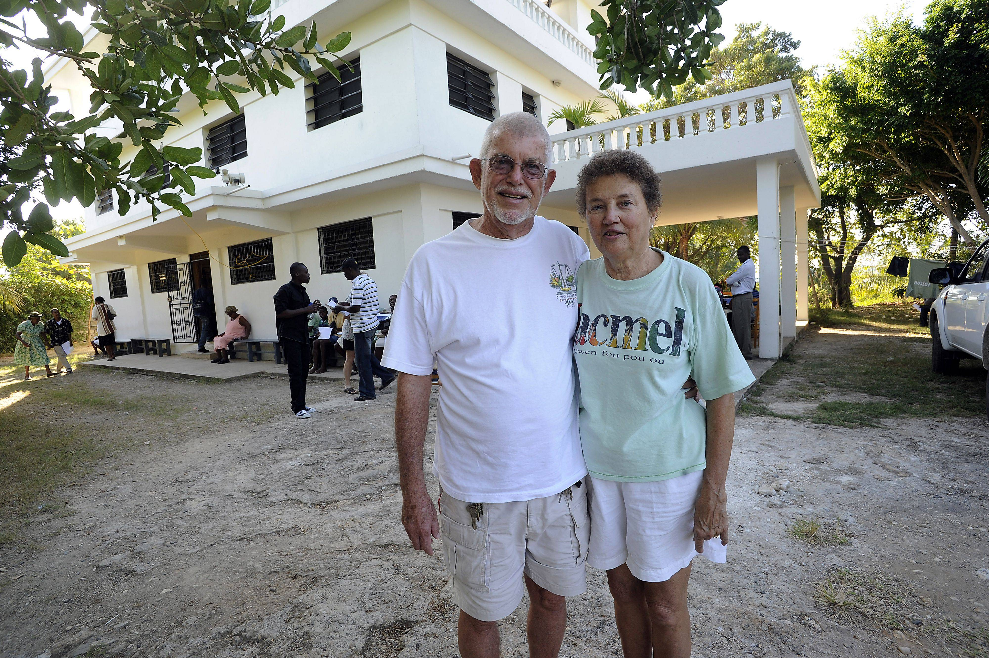 Dick and Barb Hammond formally of Peoria, Illinois started the FOTCOH Foundation In Jacmel, Haiti over twenty years ago offering free medical care to the Haitian people.
