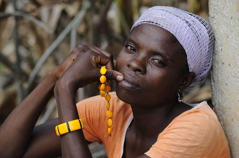 pretty haitian women