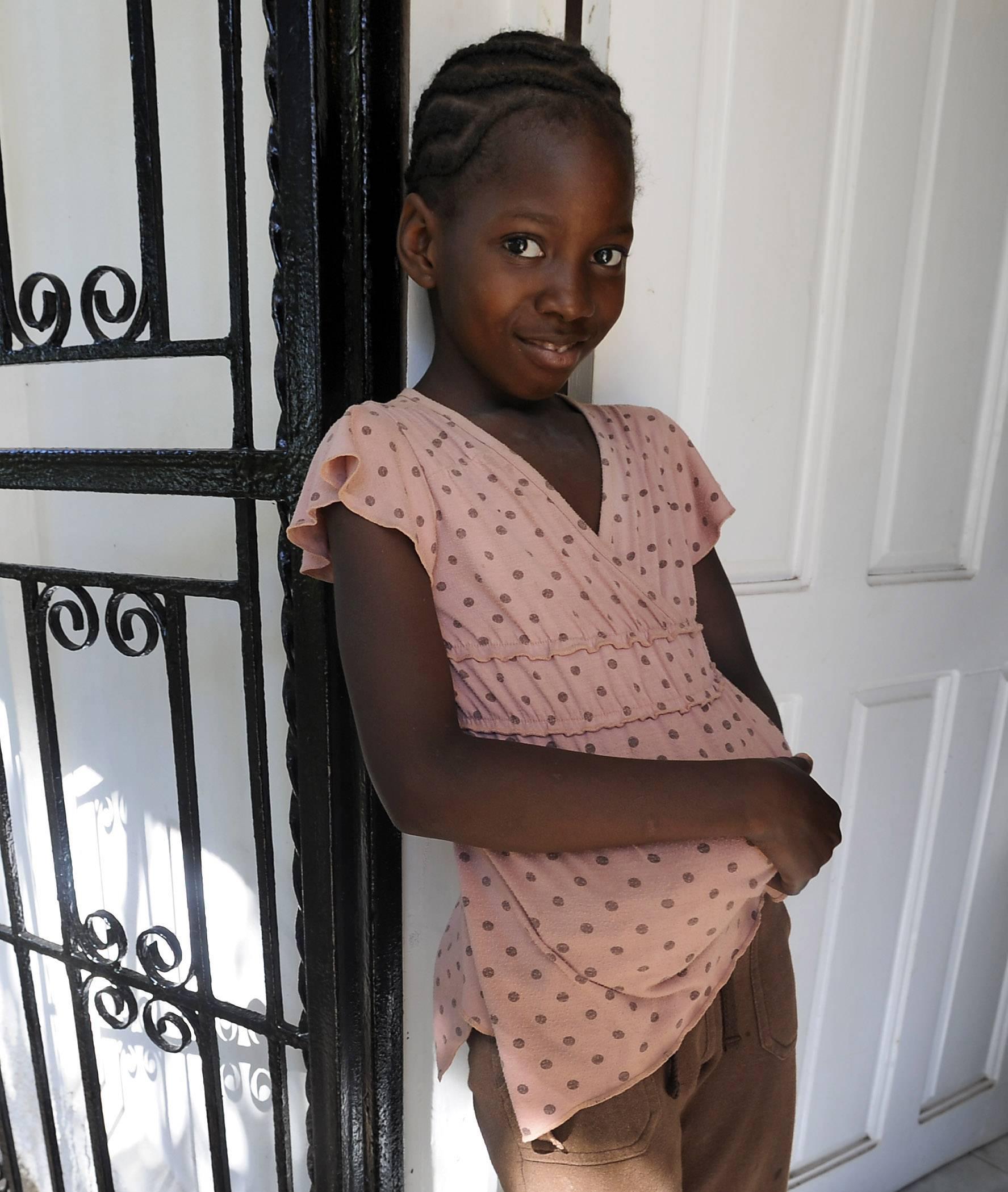 Black haitian girls