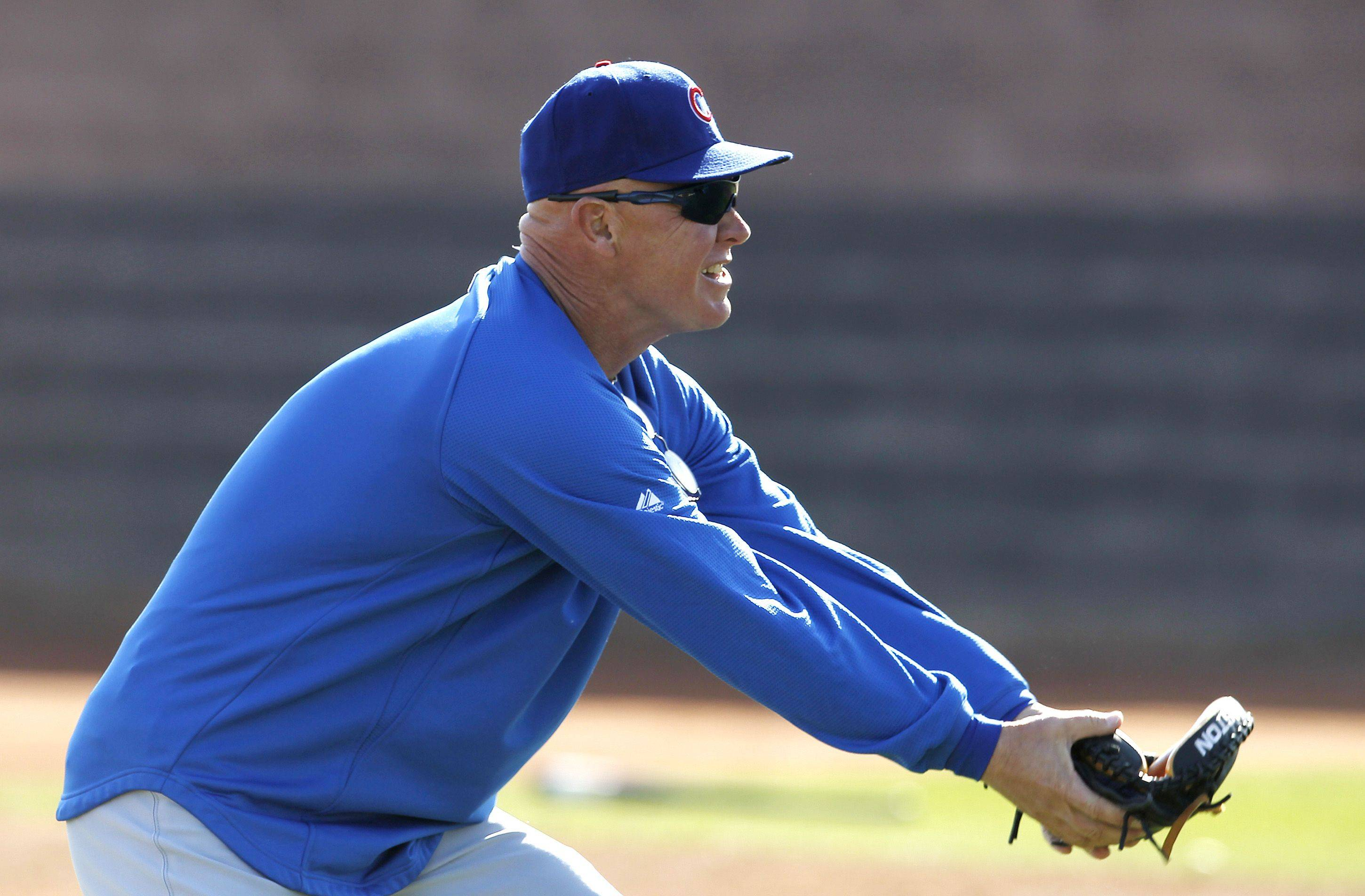 With 17 years in the minor leagues as a coach, Cubs manager Mike Quade takes a hands-on approach with his club.