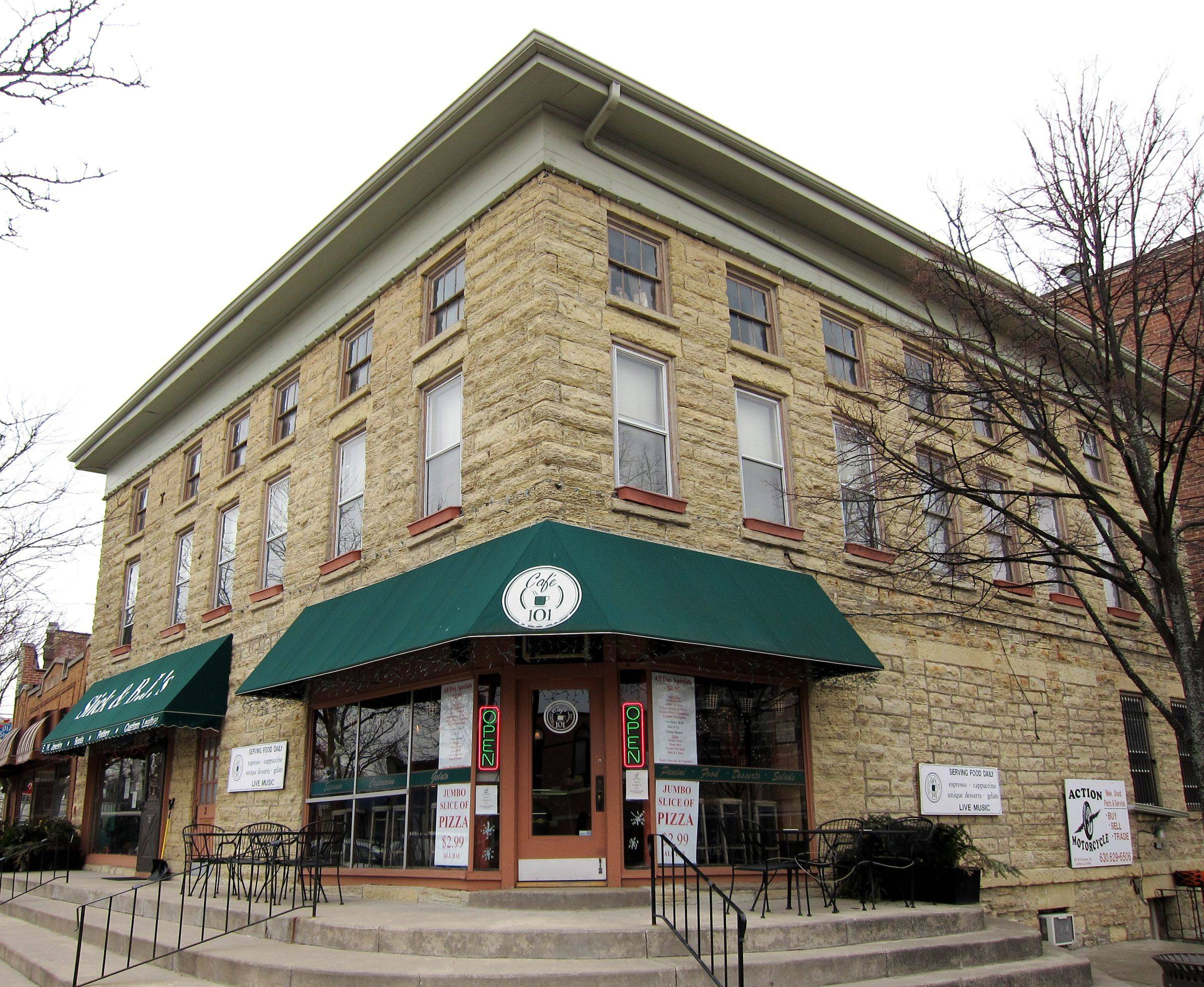 The building at 101 W. St. Charles Road, which used to be The Lombard Hotel, now is recognized with a honorary plaque from the Lombard Historical Society.