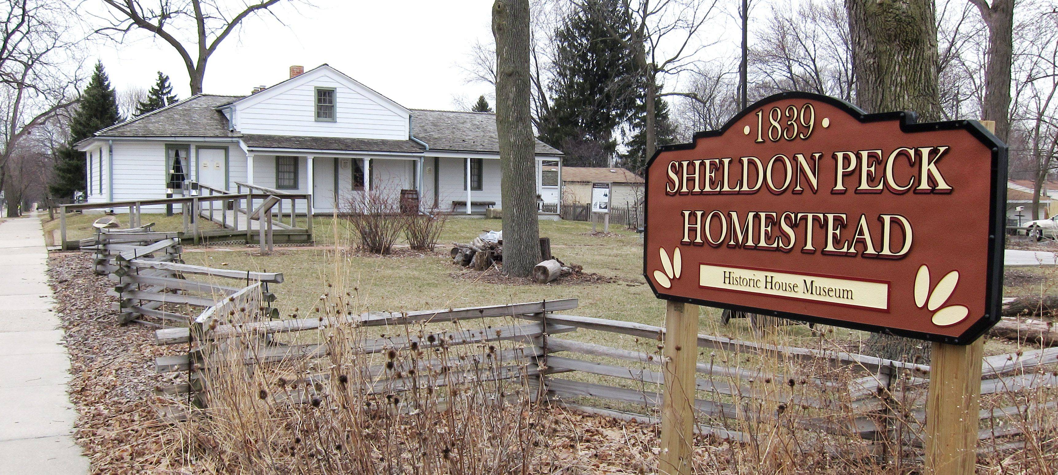 The Sheldon Peck Homestead at 355 E. Parkside Ave. is one of three sites with local landmark status in Lombard.