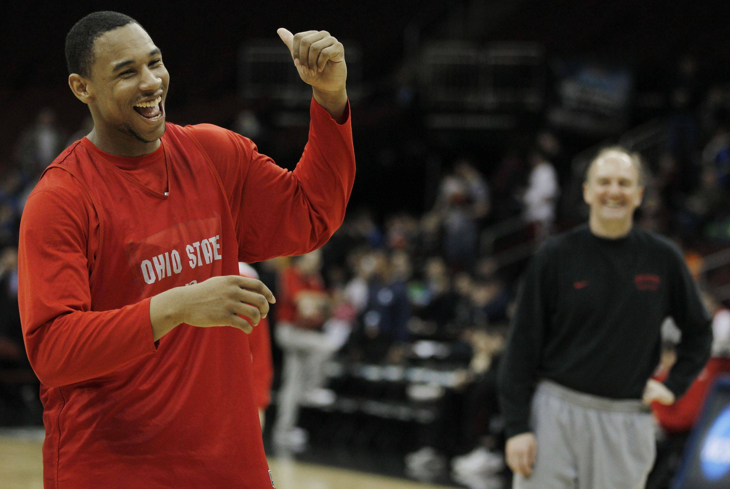 Freshman forward Jared Sullinger and Ohio State take on Kentucky night in an East semifinal.