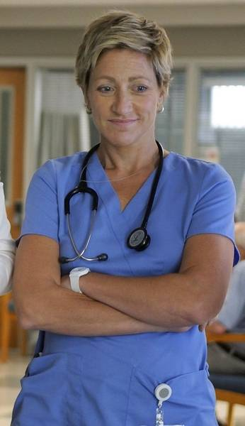 Edie Falcos Back For New Shift On Nurse Jackie