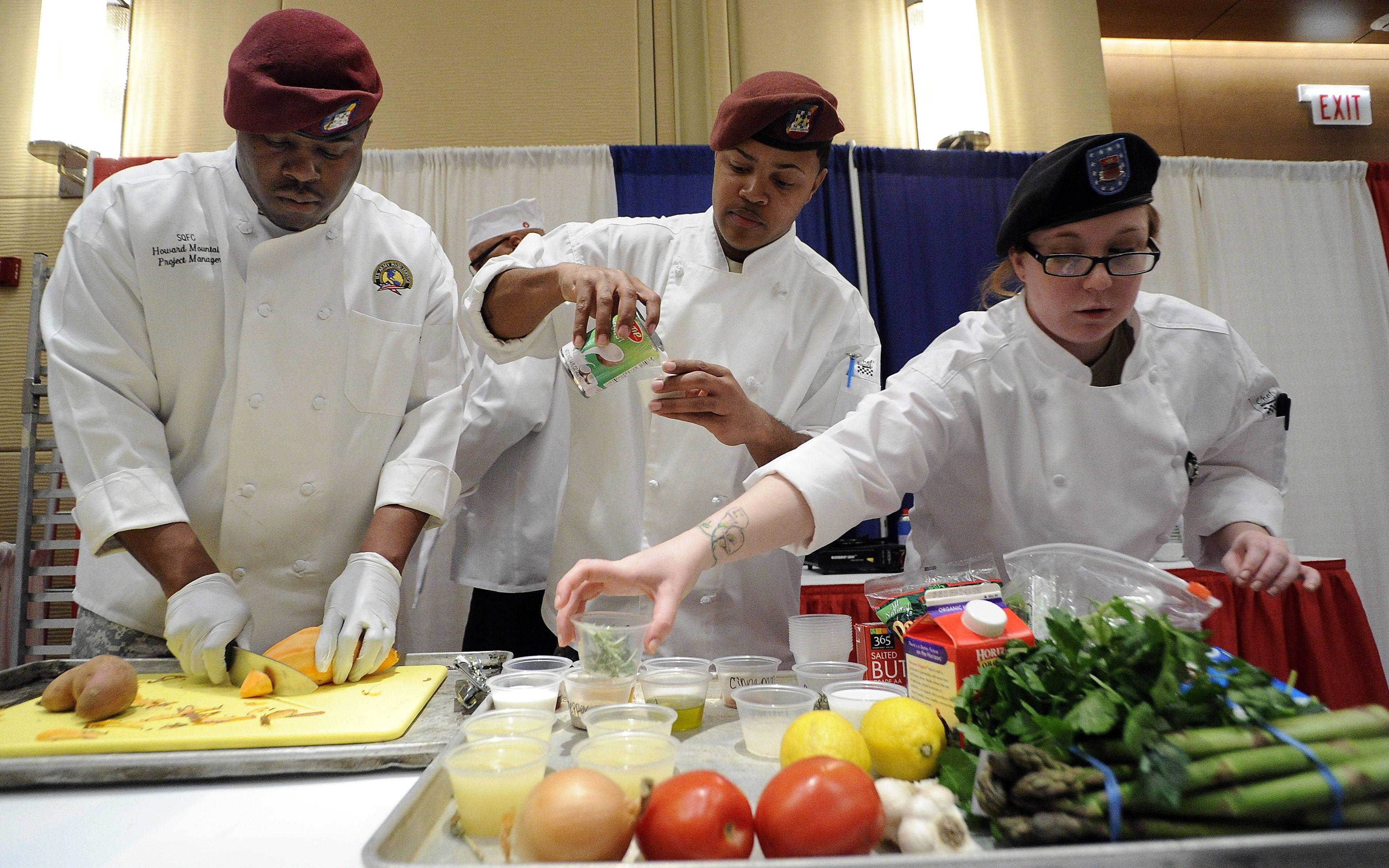 Harper culinary students win foodie showdown