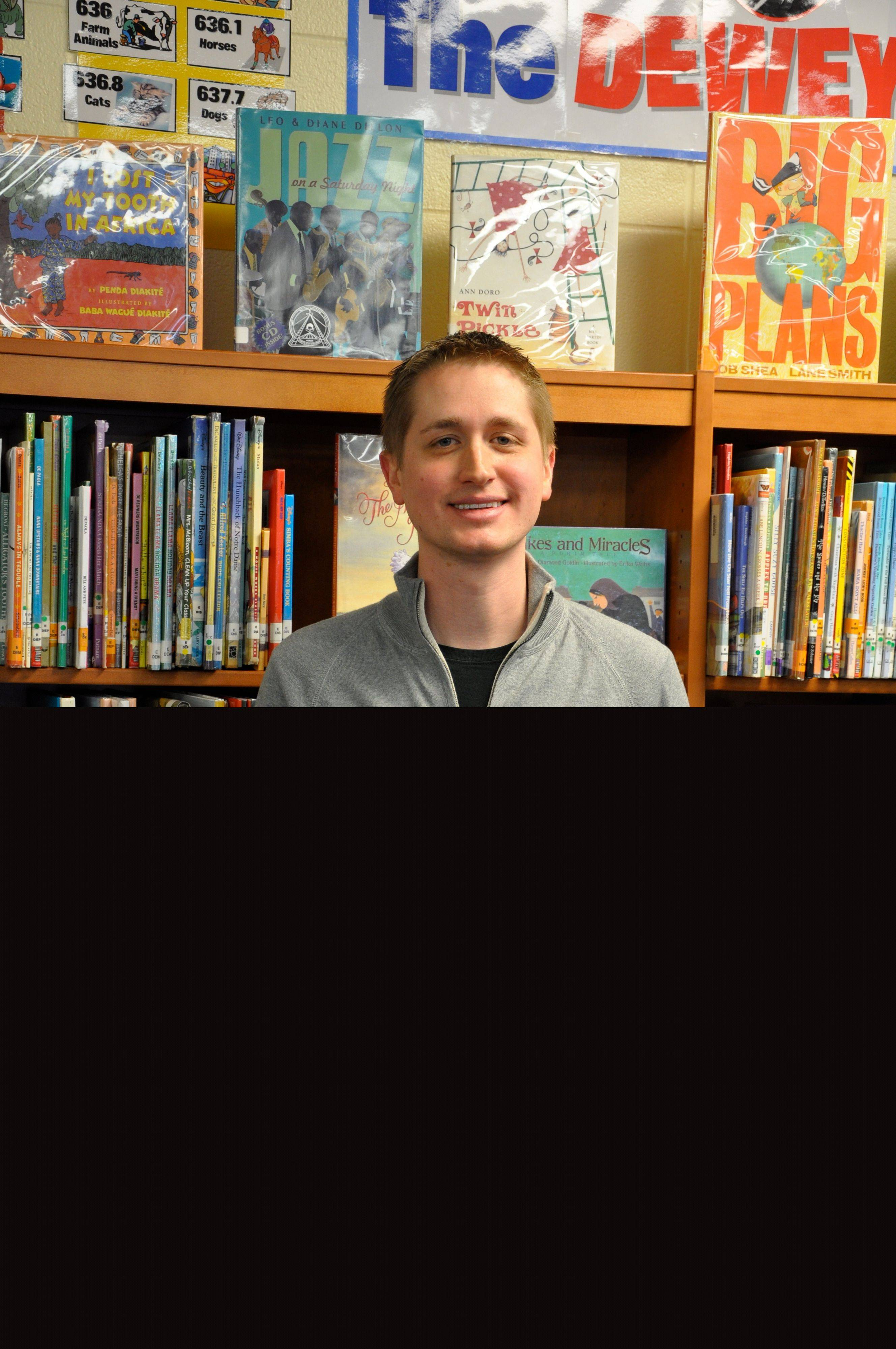 John Schumacher, library director at Brook Forest Elementary School in Oak Brook, is nationally recognized for his innovative approach to getting kids to read.