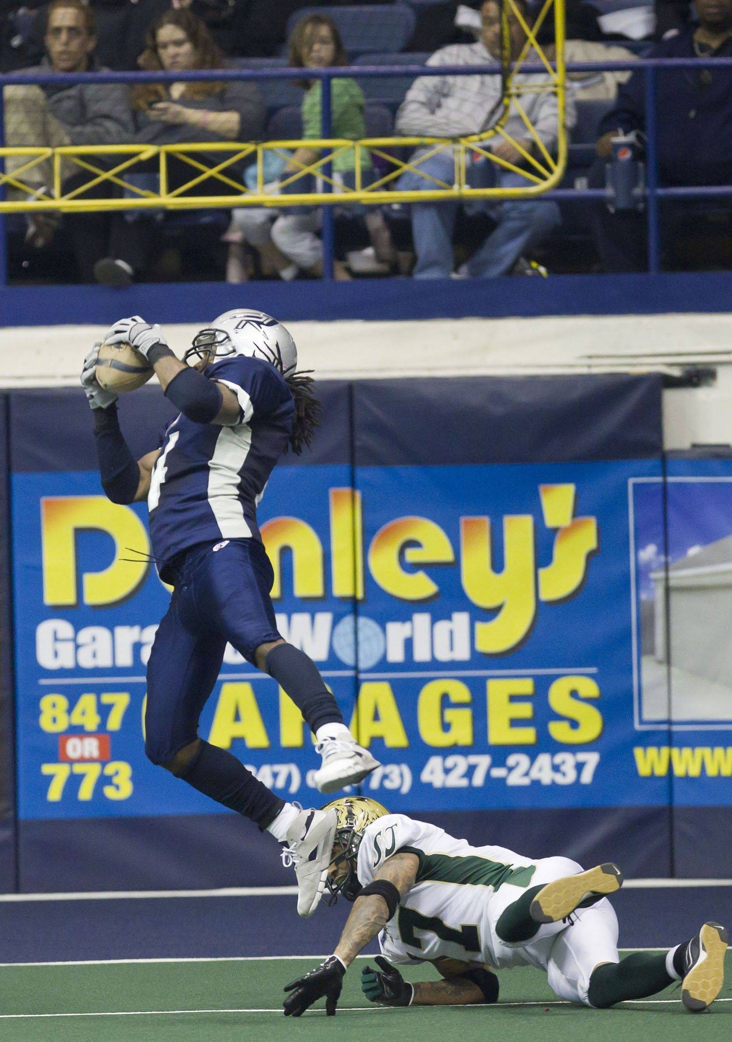 Rush defensive back Vic Hall was named AFL Defensive Player of the Week for his efforts Saturday against the Cleveland Gladiators. Hall had 10.5 tackles including one tackle for loss, and he intercepted Cleveland quarterback Kurt Rocco and returned the pick for 30 yards.