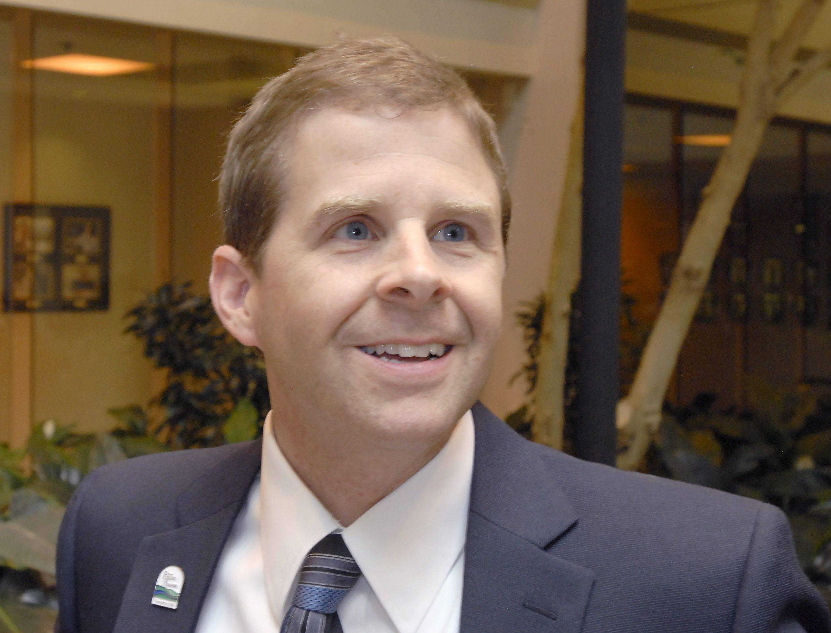 Tom Rooney reflects Wednesday on being elected mayor of Rolling Meadows.