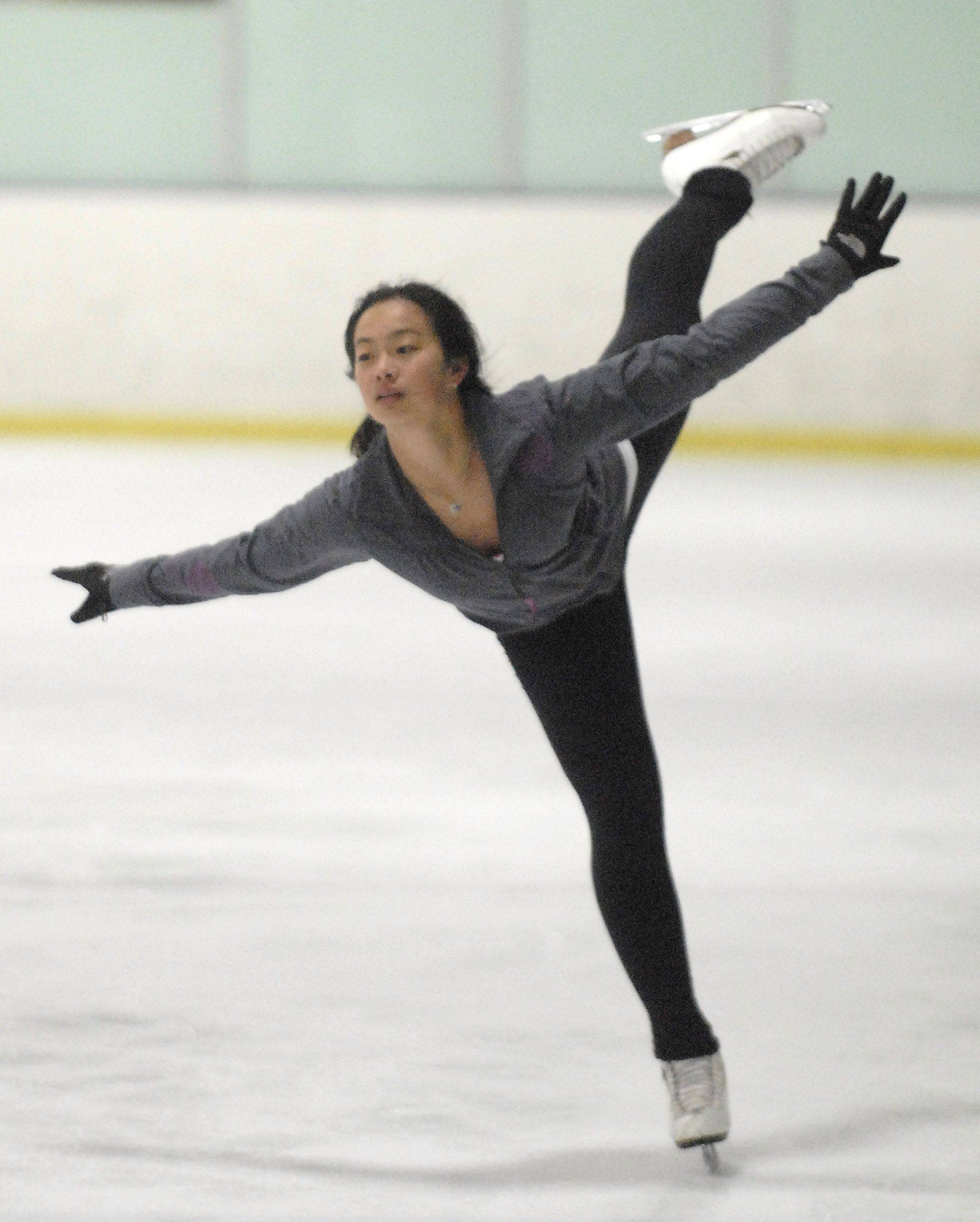"Rachel Chang, 15, of Vernon Hills will perform Sunday, April 10, in ""We Sk8 4 Life."""
