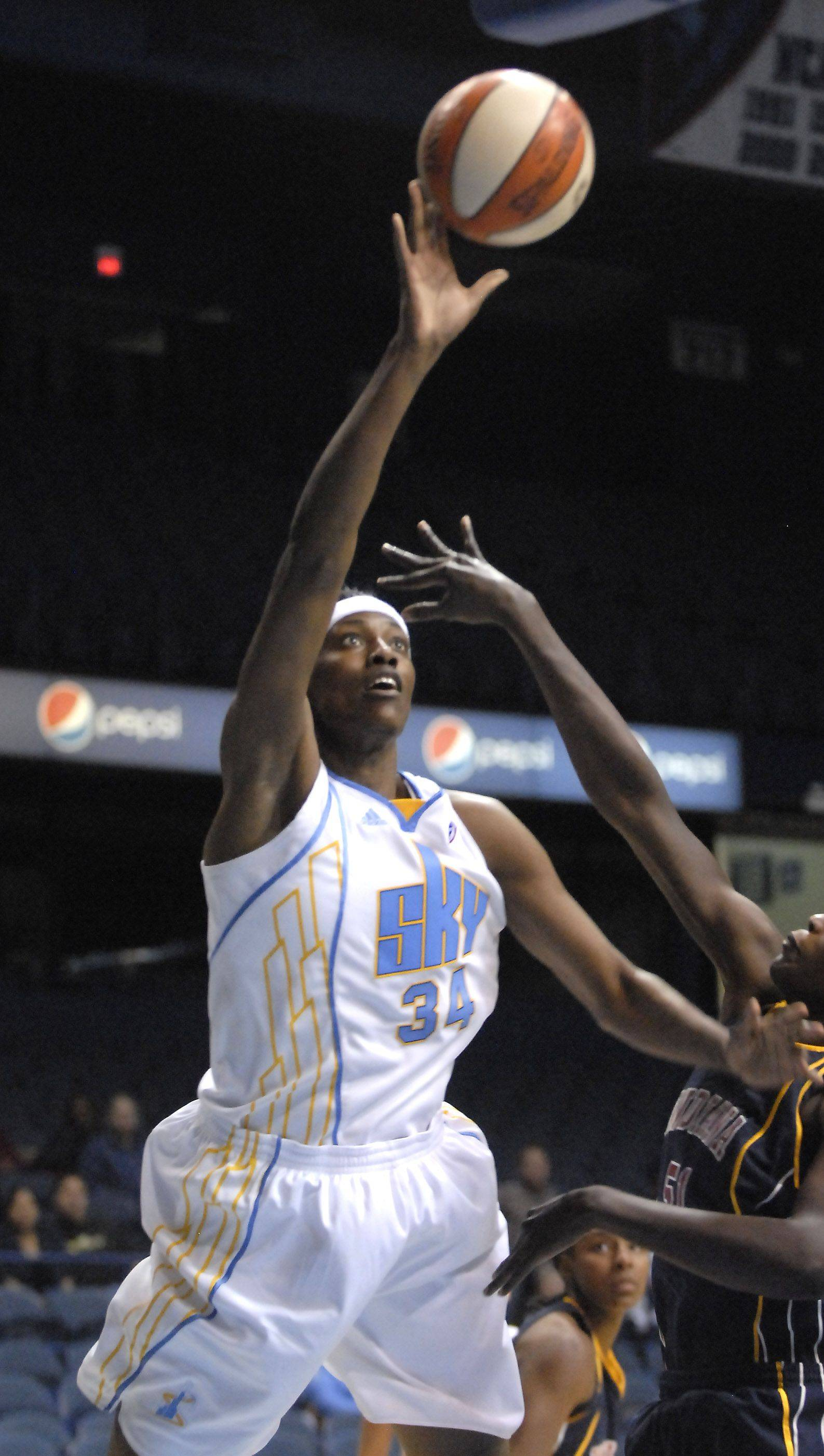 Sylvia Fowles has been an all-star for the Sky. Will the team be trying to add another versatile frontcourt player via the WNBA Draft Monday?