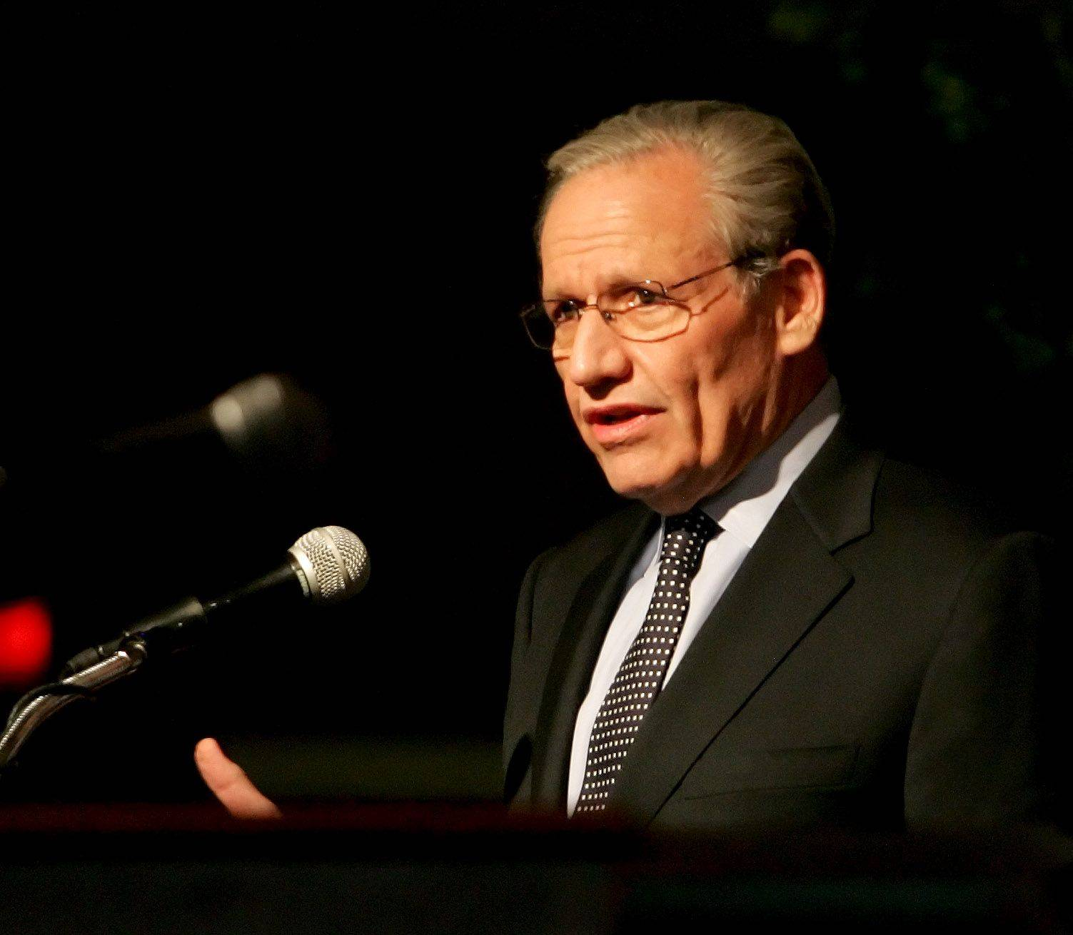 "Bob Woodward gives a presentation called ""Obama's Wars and Foreign Policy: Challenges Facing the Administration and the American People."""