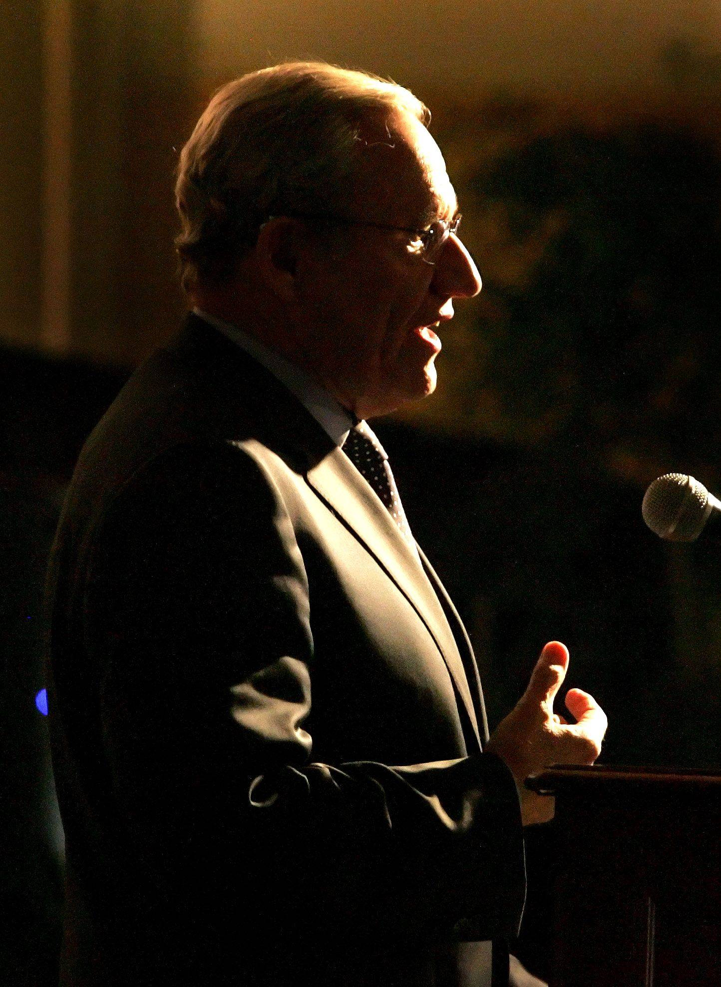 "Bob Woodward gives a talk called ""Obama's Wars and Foreign Policy: Challenges Facing the Administration and the American People."""