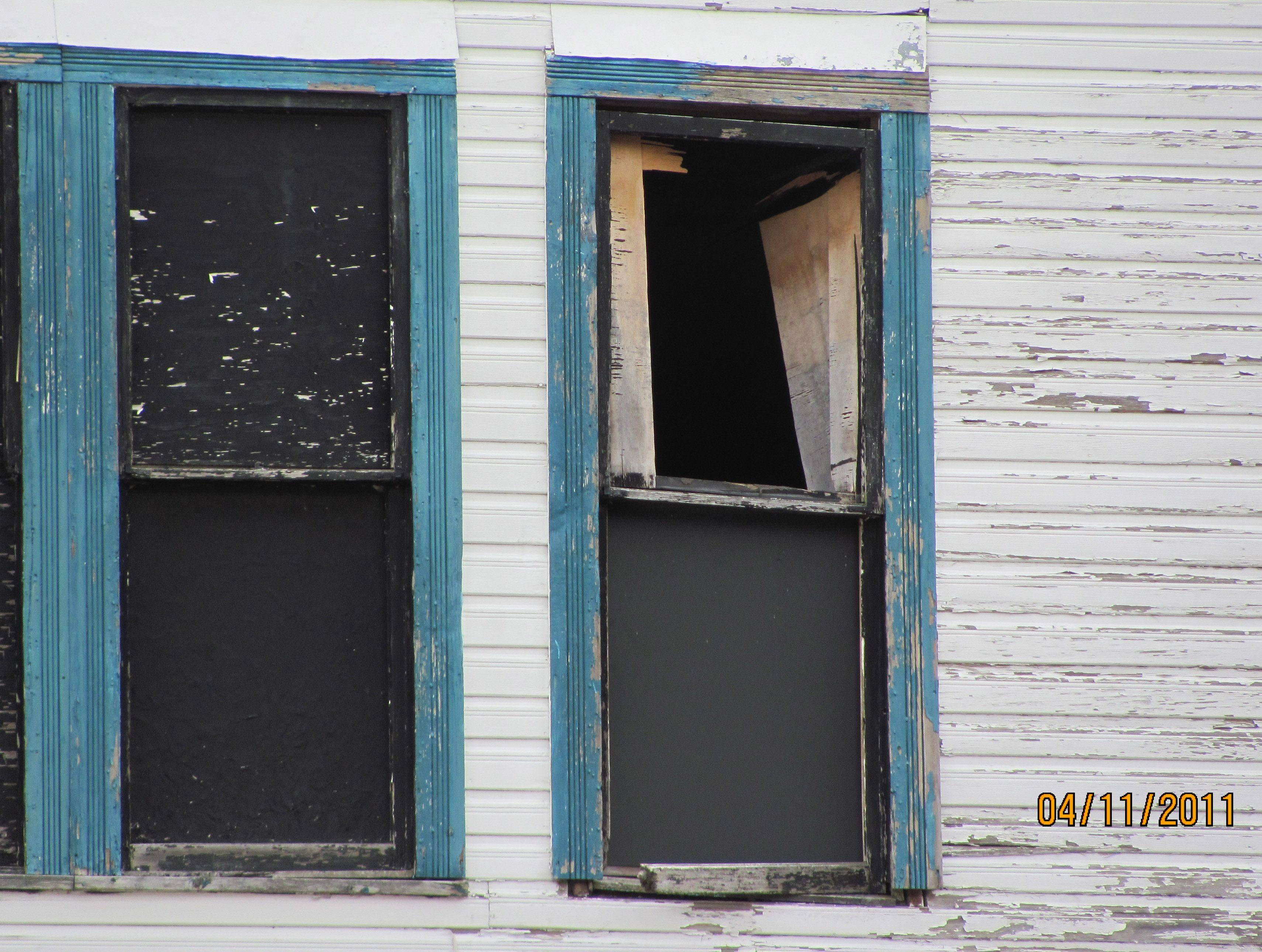 Fox Lake officials took this photo, one of several that show the condition of the 135-year-old hotel.