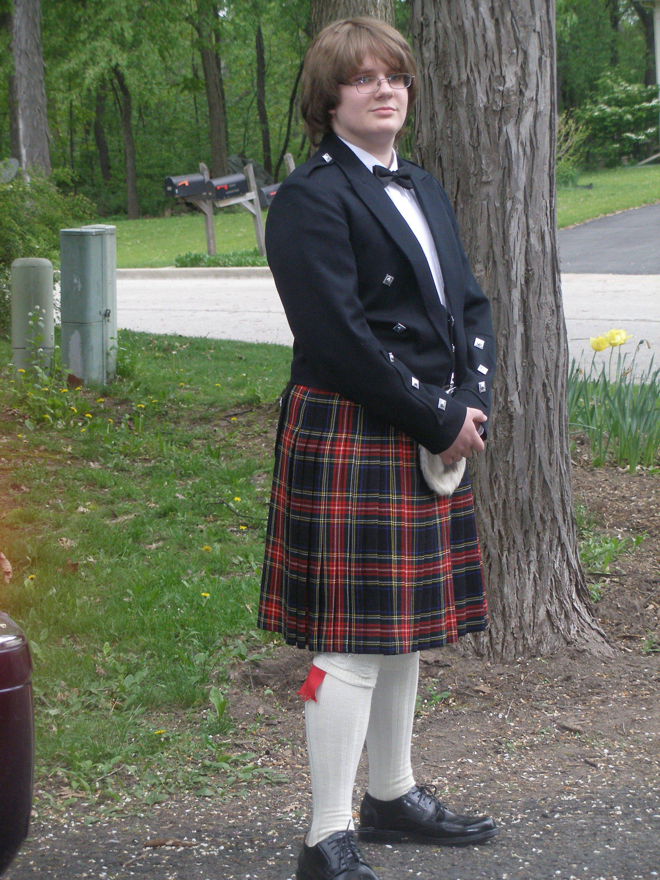Cameron Swinney plans to wear a kilt again this year to prom at West Chicago's Community High School, but he's disappointed that tickets for a post-prom cruise sold out.
