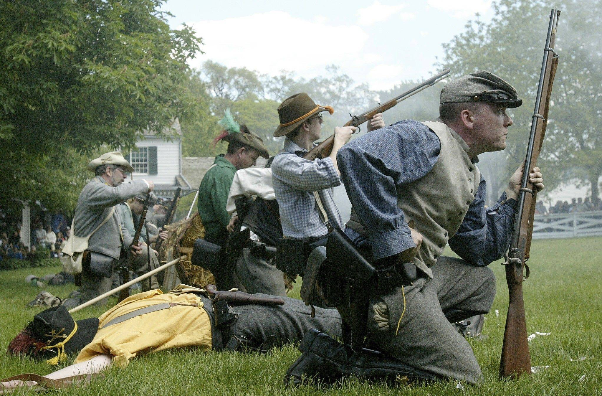 Residents will have many chances to see Civil War re-enactors in DuPage this year and beyond as local groups explore history and local ties to the war, which started 150 years ago.