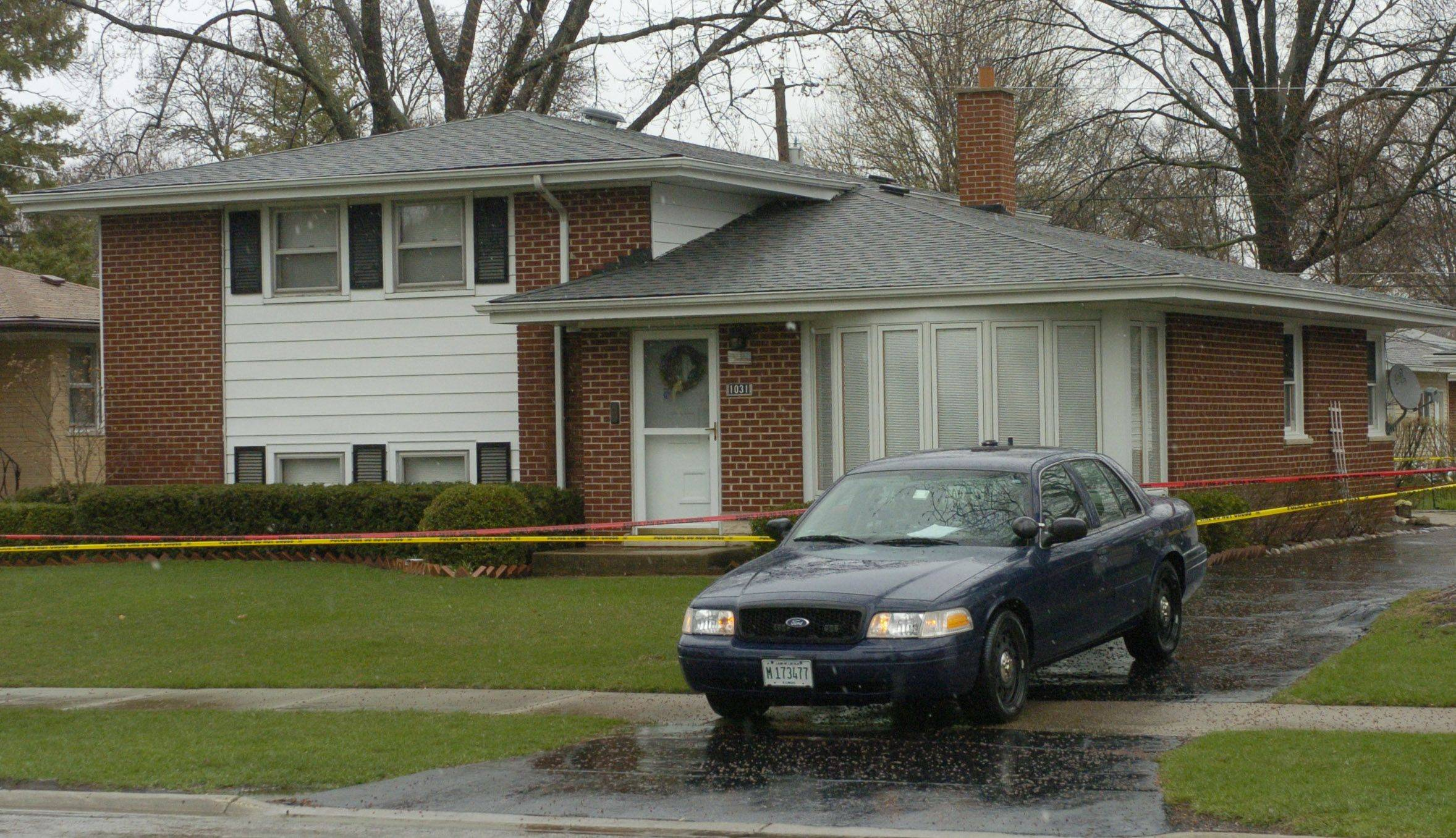 A 55-year-old Arlington Heights man was killed in his home last week by four men, including his own son, who had hatched a plot top rob him, according to charges announced by police early Sunday morning.