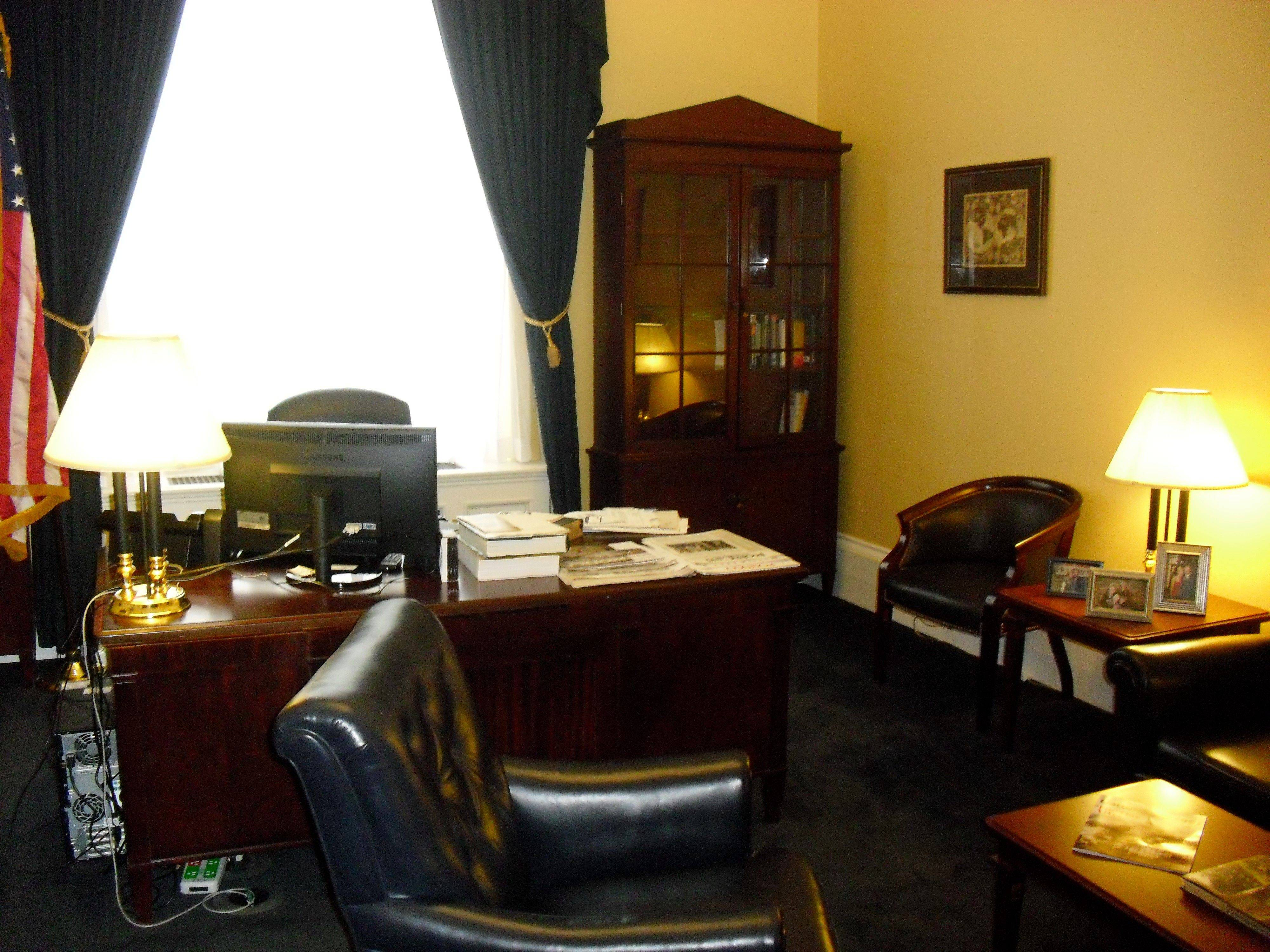 U.S. Rep. Randy Hultgren's office in the nation's capital.