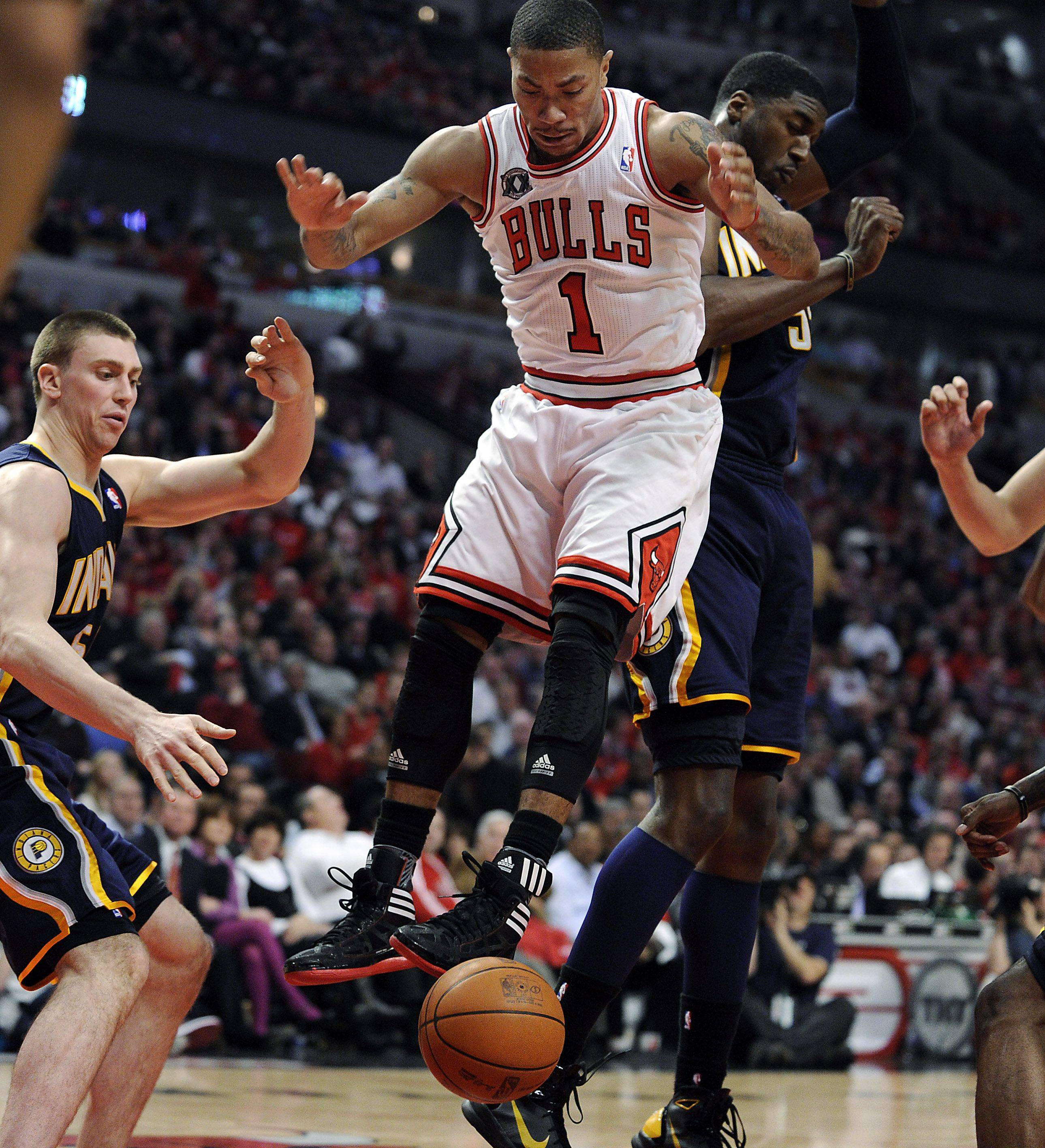 Images: Bulls vs Pacers, Game Two