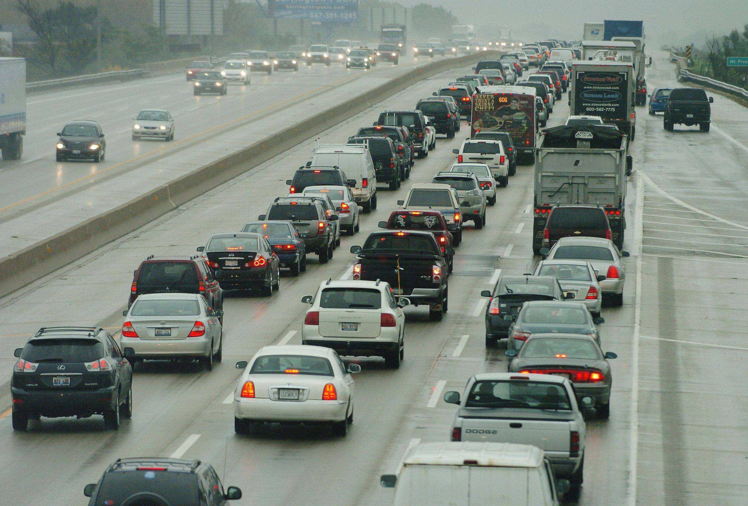 Charging drivers extra to jump on an express lane during rush-hour could solve how the Illinois tollway pays for rebuilding and widening the Jane Addams Tollway (I-90).