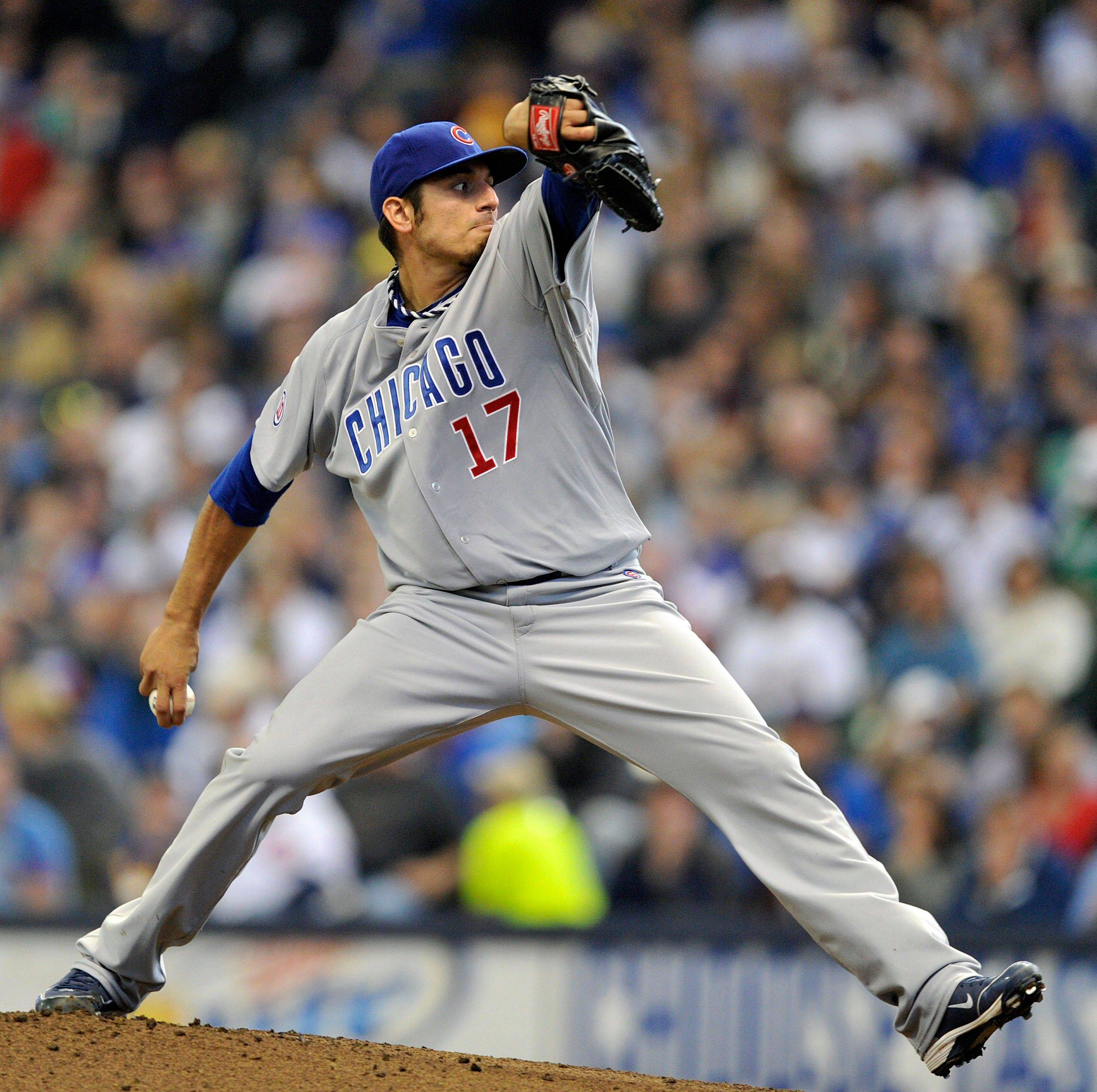 Matt Garza will start Game 1 of the Cubs doubleheader against San Diego.