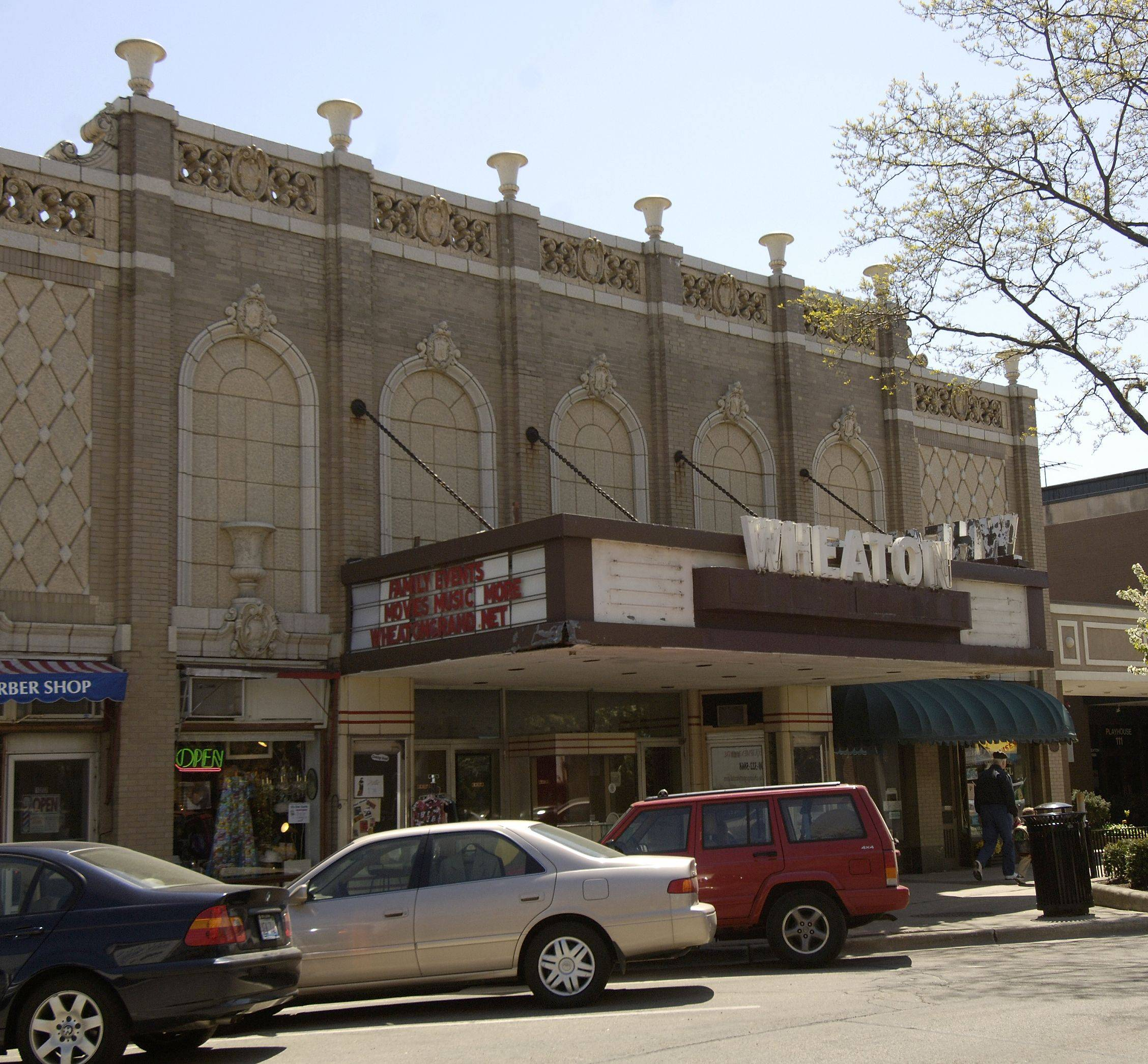 The Wheaton Grand Theater in downtown Wheaton has seen a slight increase in interest ever since an advisory referendum went down to defeat on election night.
