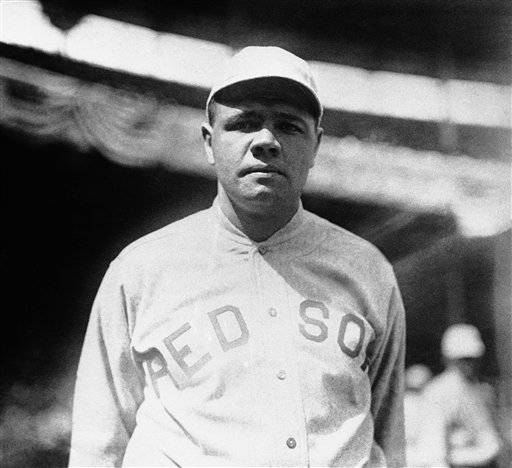 Babe Ruth played in the 1918 World Series against the Chicago Cubs that the Red Sox won 4-2.