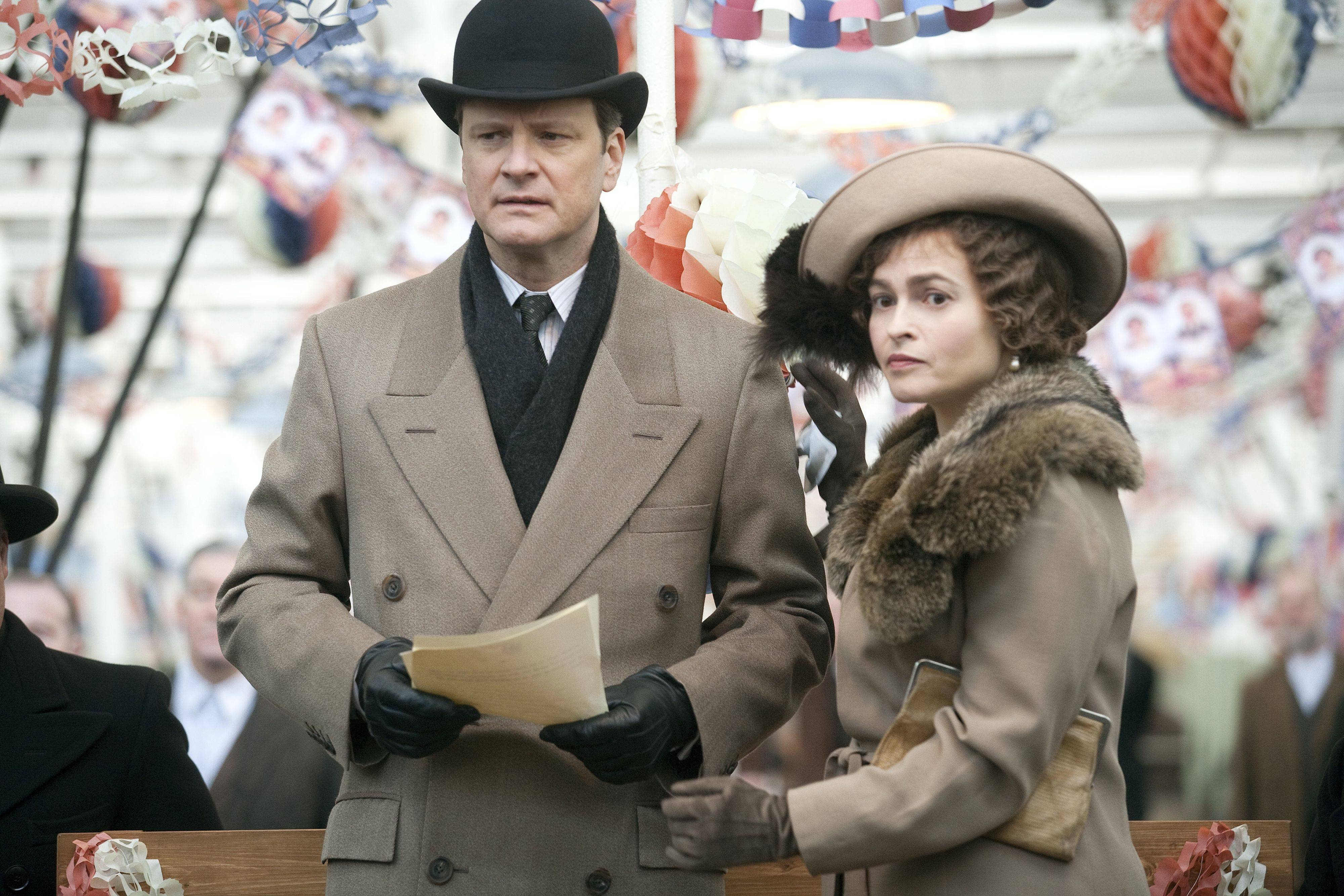 "Best Picture Oscar winner ""The King's Speech,"" starring Colin Firth and Helena Bonham Carter, is out on DVD."