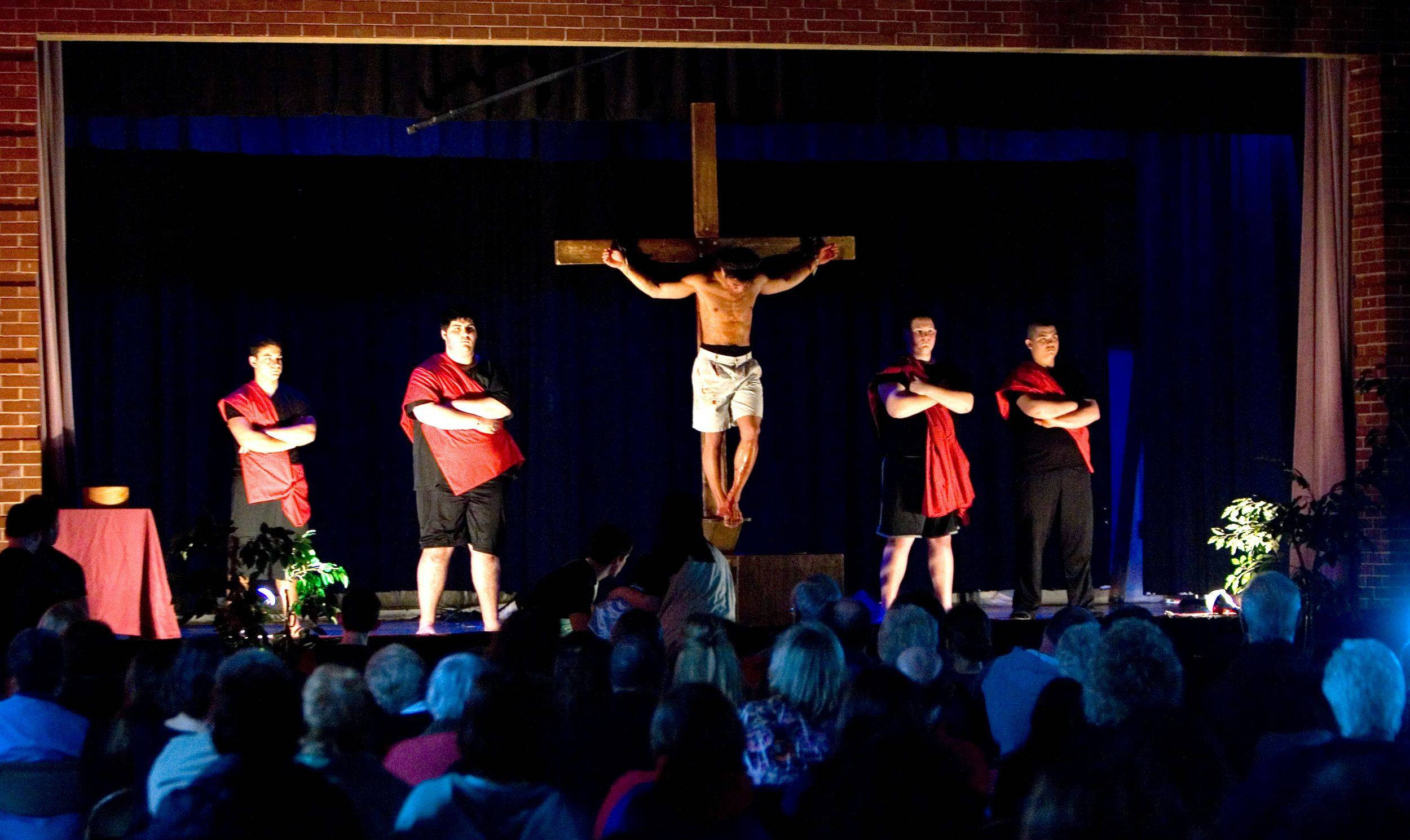"The St. Alexander's Youth presents ""The Passion Of Jesus Christ"" on Good Friday."