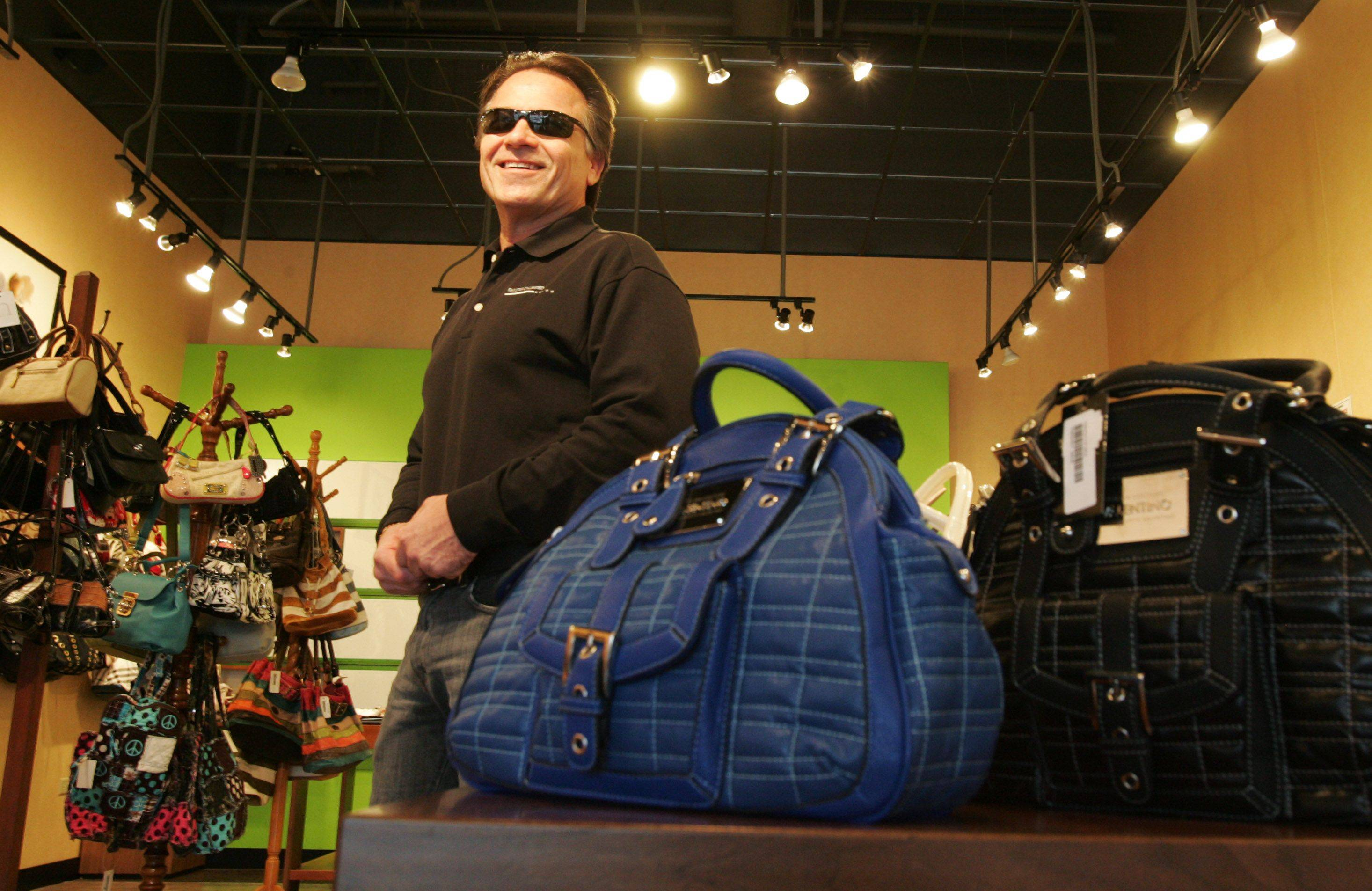 Dan Druck is the owner of Knock It Off boutique at Algonquin Commons, which sells designer-inspired accessories.