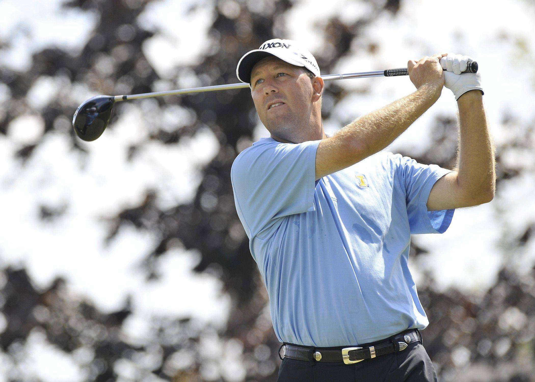 Illinois golf coach Mike Small has started the local golf season with another victory. He won the Illinois PGA stroke play tournament in Bloomington on Monday, edging Elgin's Jonathan Duppler.
