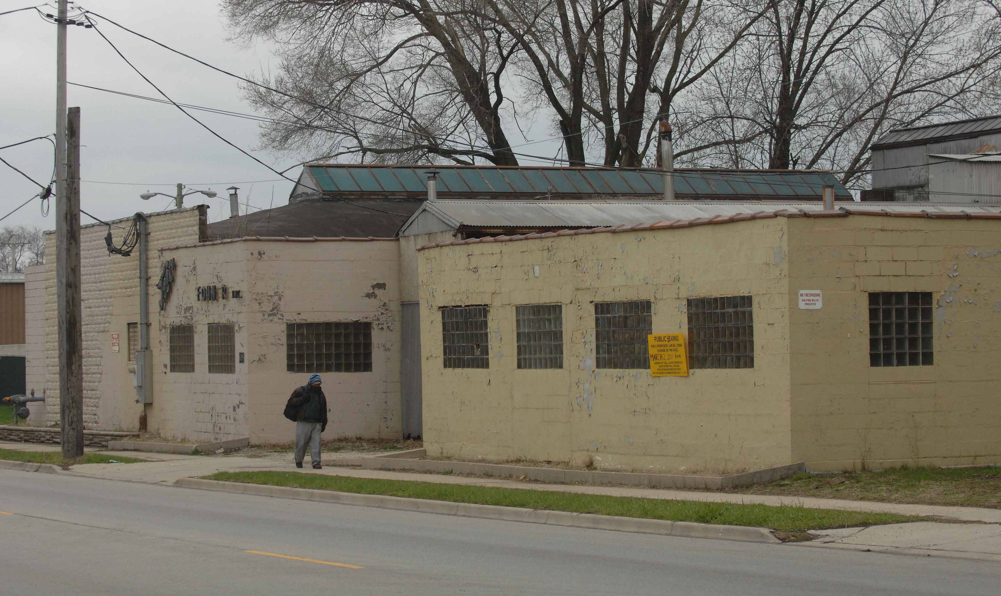 The building at 629 S. River St. in Aurora stands vacant, but city council Tuesday night granted a conditional use permit to allow Fermin's Poultry to slaughter and sell chicken and other foul at the site.