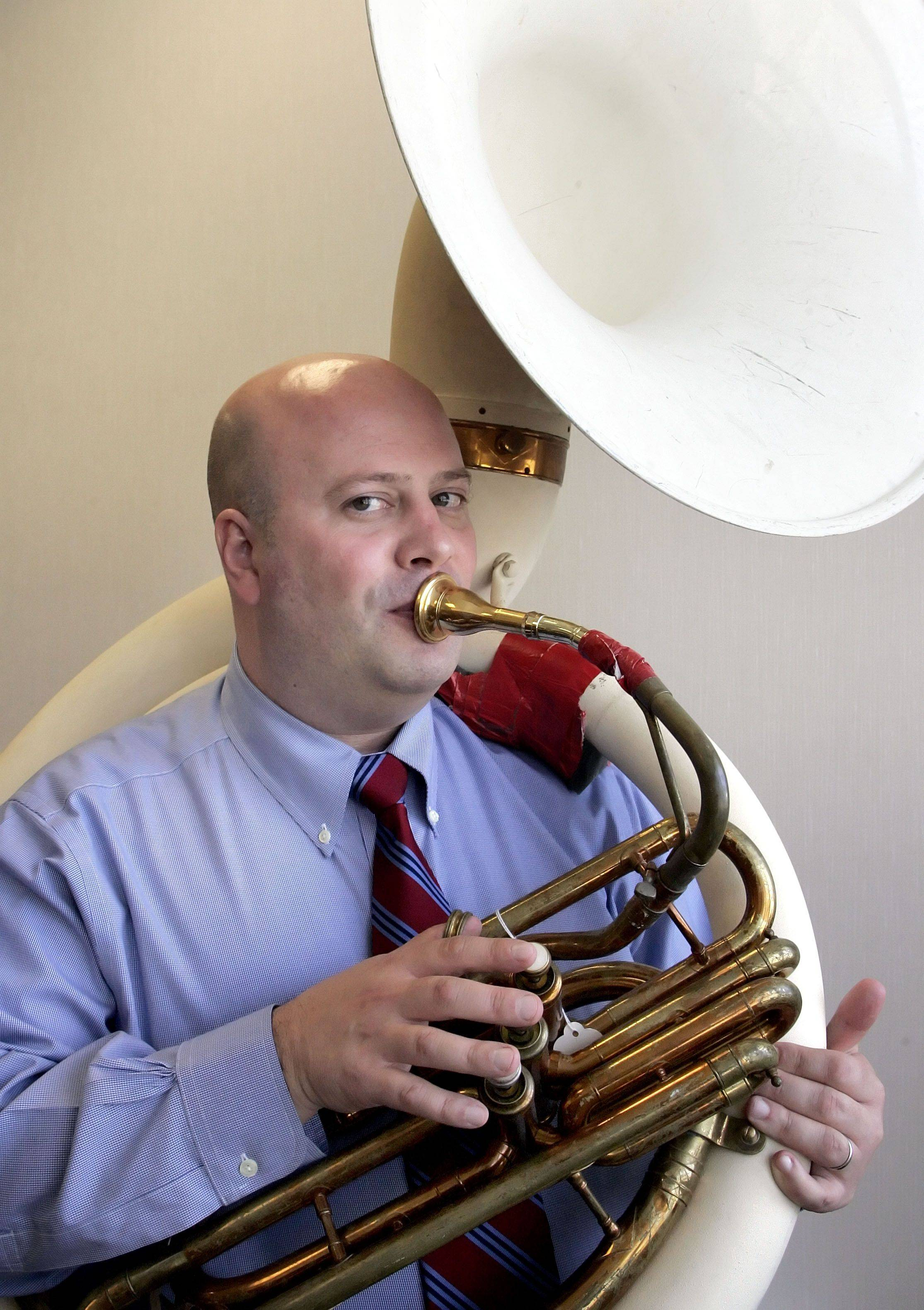 Adler Park School Principal Jon Bogie brings his love of music to the role of school principal.