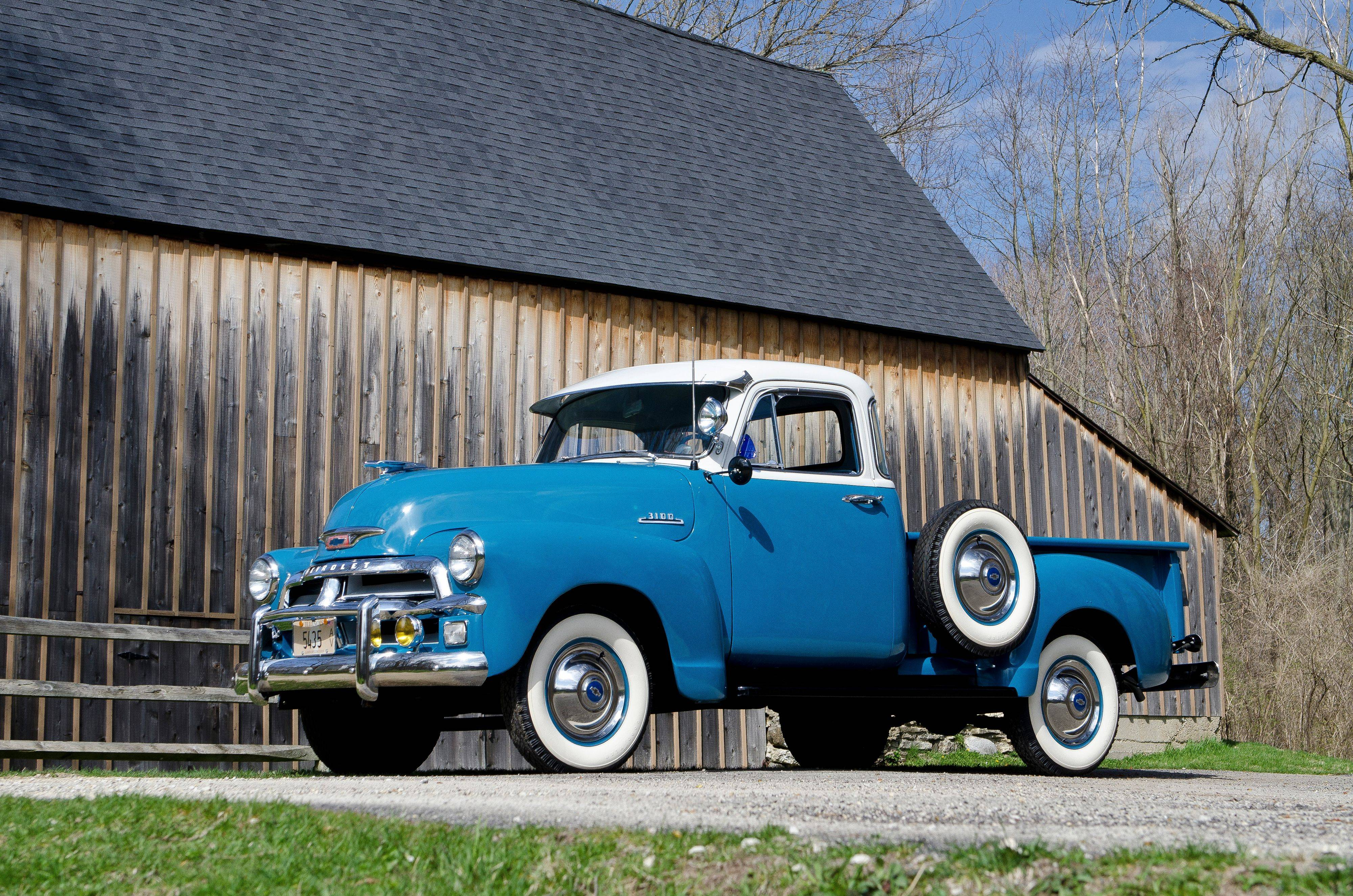 Hanover Park man's Chevy truck a 1954 classic