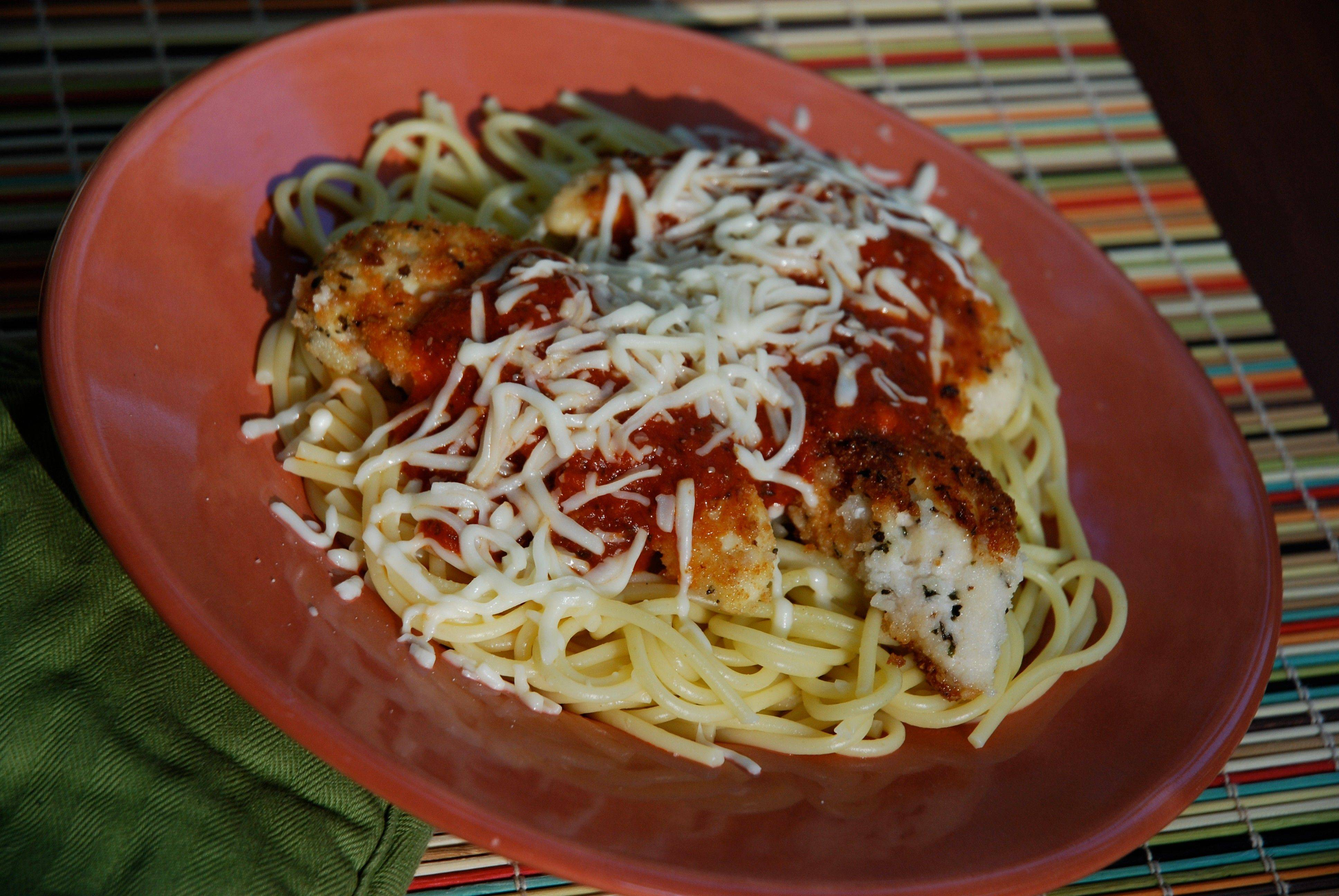Chicken Fingers Parmesan appeals to children and adults and is sure to become a favorite in your house.