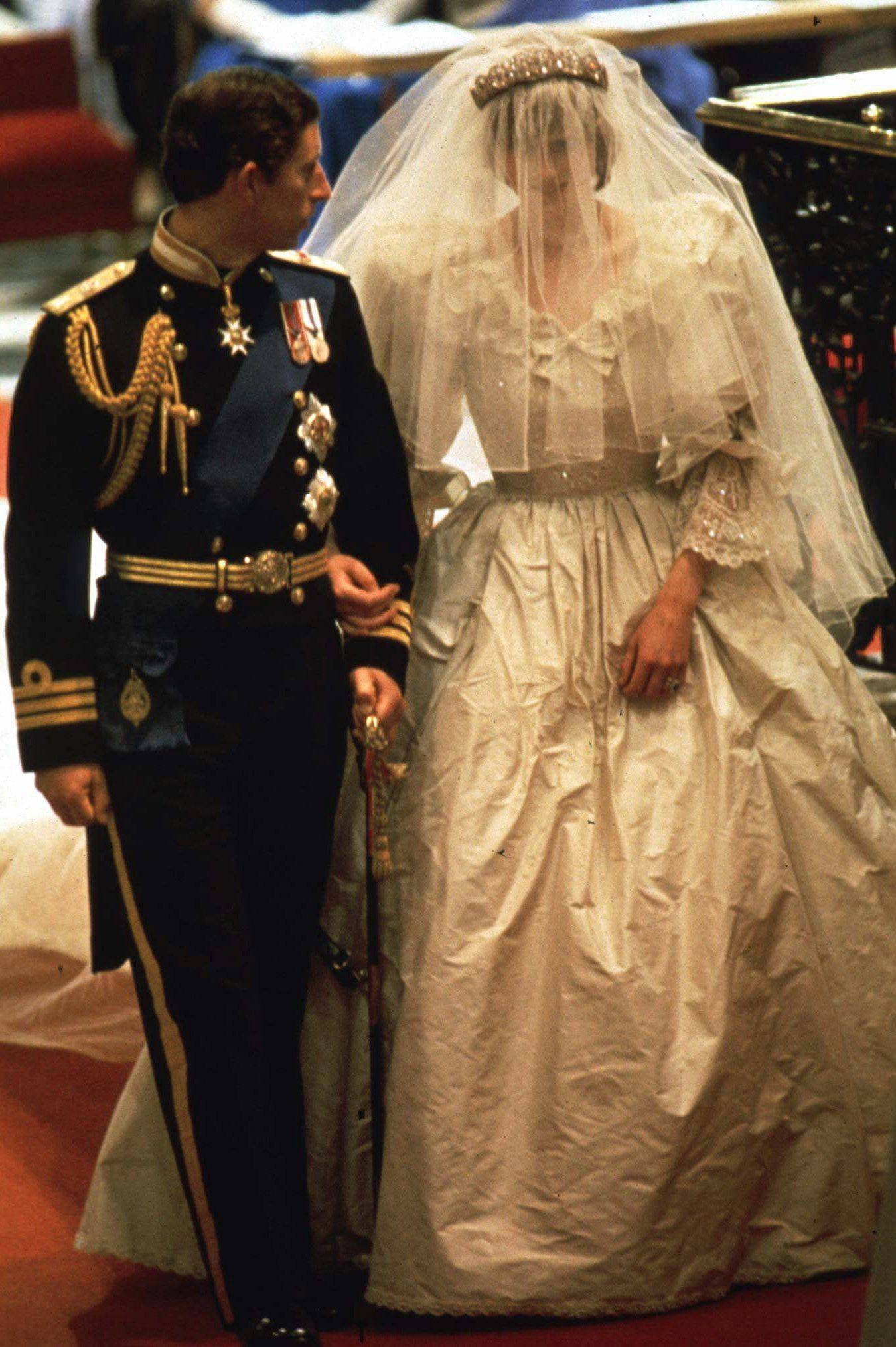 Relive past royal weddings, including the 1981 marriage of Prince Charles to Lady Diana Spencer, on DVD.
