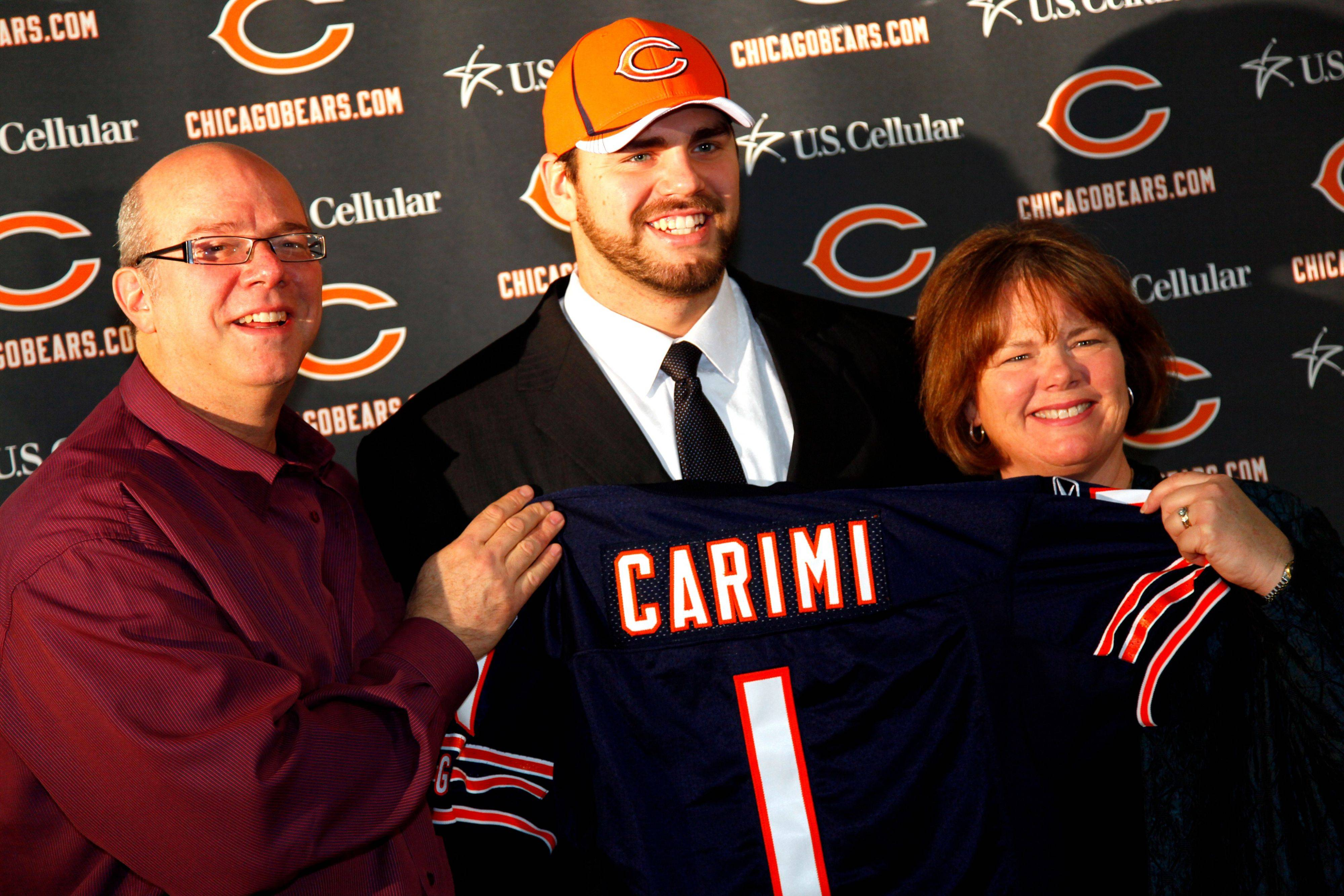 Bears' Carimi exactly where he wanted to be