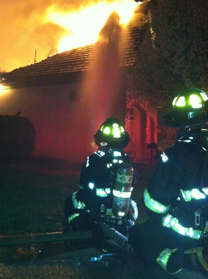 Fire departments from 19 surrounding towns assisted Oak Brook in putting out a double-alarm fire over several hours Friday night.