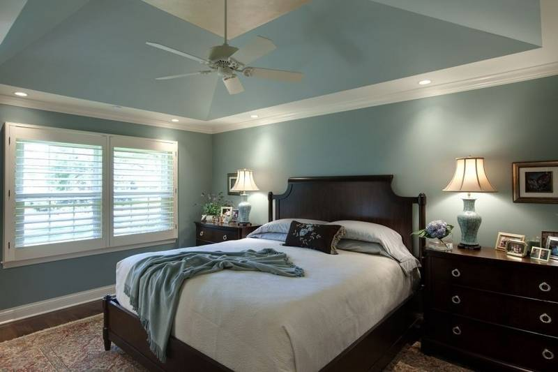 A tray ceiling was added to upgrade the master bedroom. Team embarks on a townhouse transformation