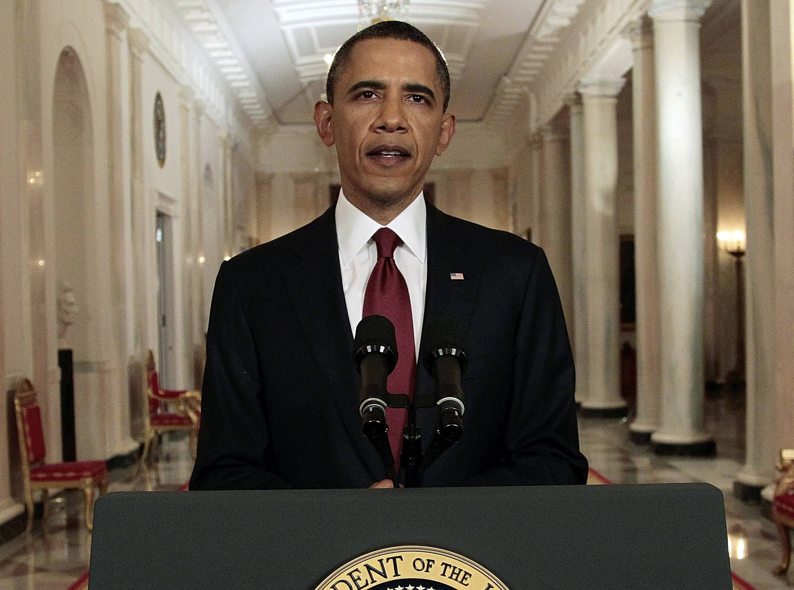 President Barack Obama announced Sunday night that a U.S. military operation resulted in the death of terrorist mastermind Osama bin Laden.