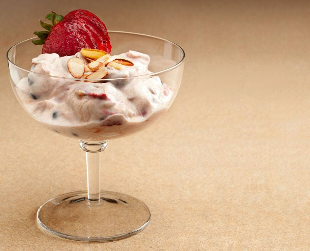 If you've shunned lactose in the past, Berry Good Yogurt Parfait is a tasty way to start building up your tolerance.