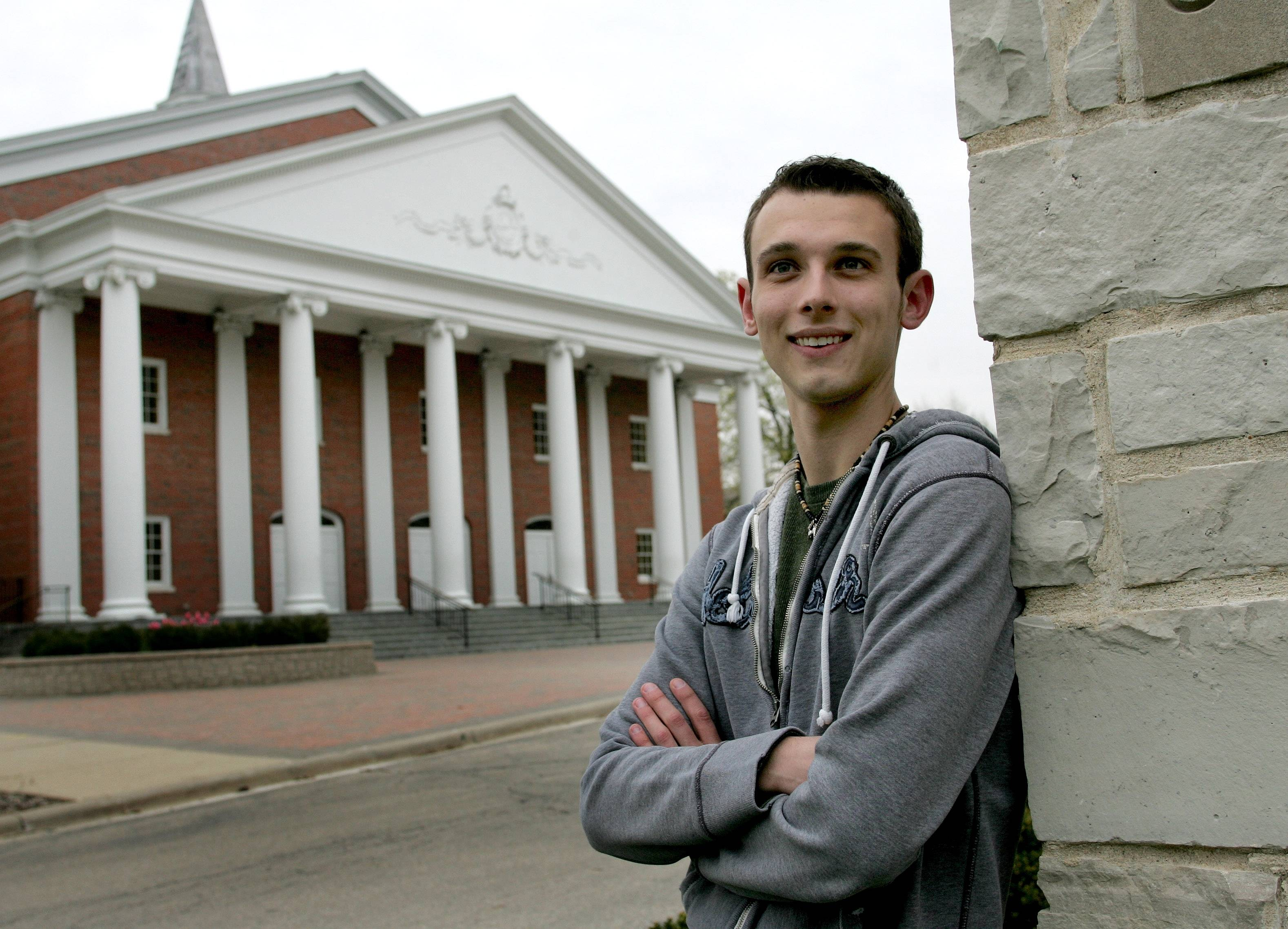 Zach Labutta thought his days at Wheaton College were over when he left the devoutly Christian school in the fall of 2009 after his sophomore year.