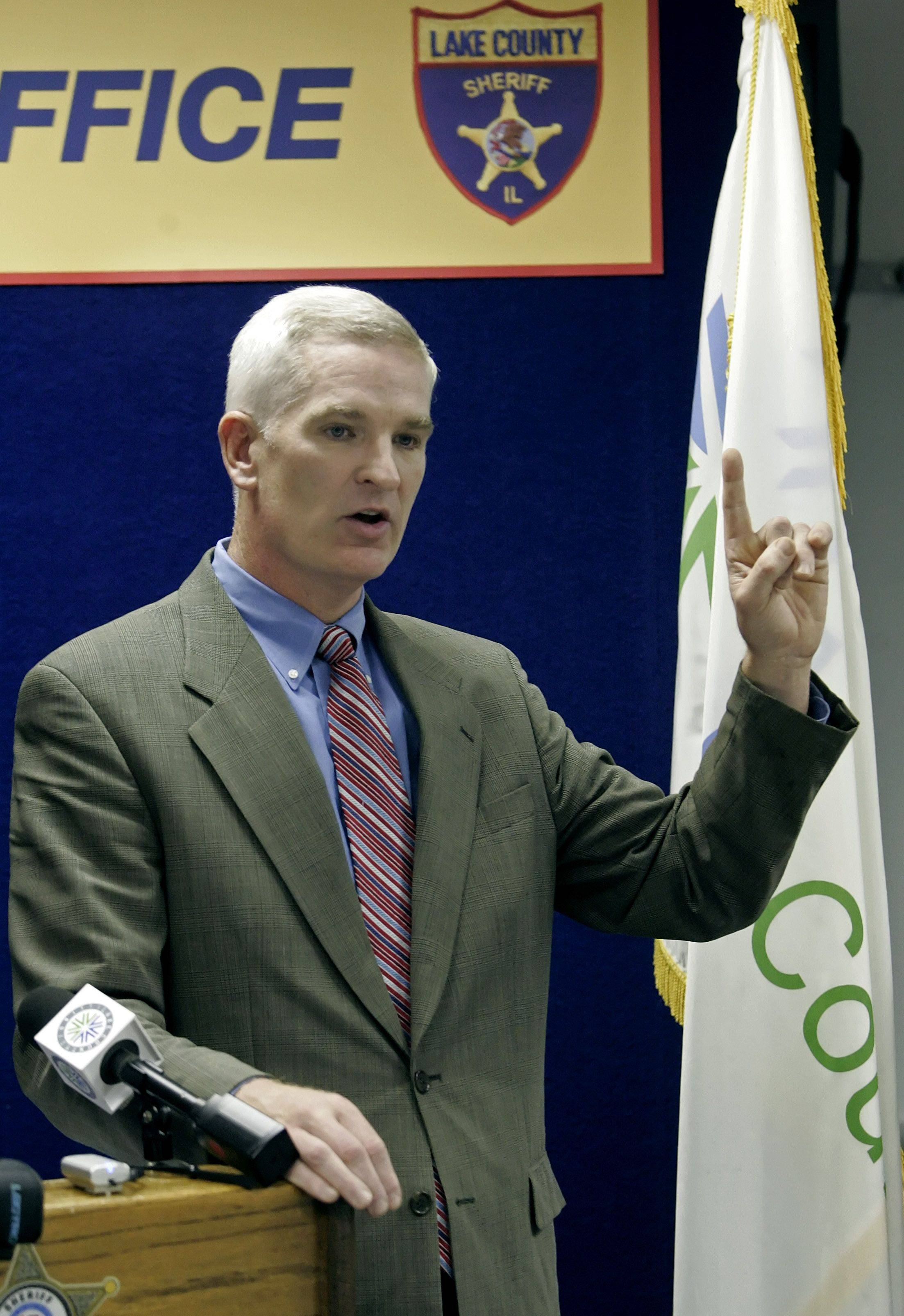 Lake County Sheriff Mark Curran wants local communities to have more control over anti-illegal immigration efforts.