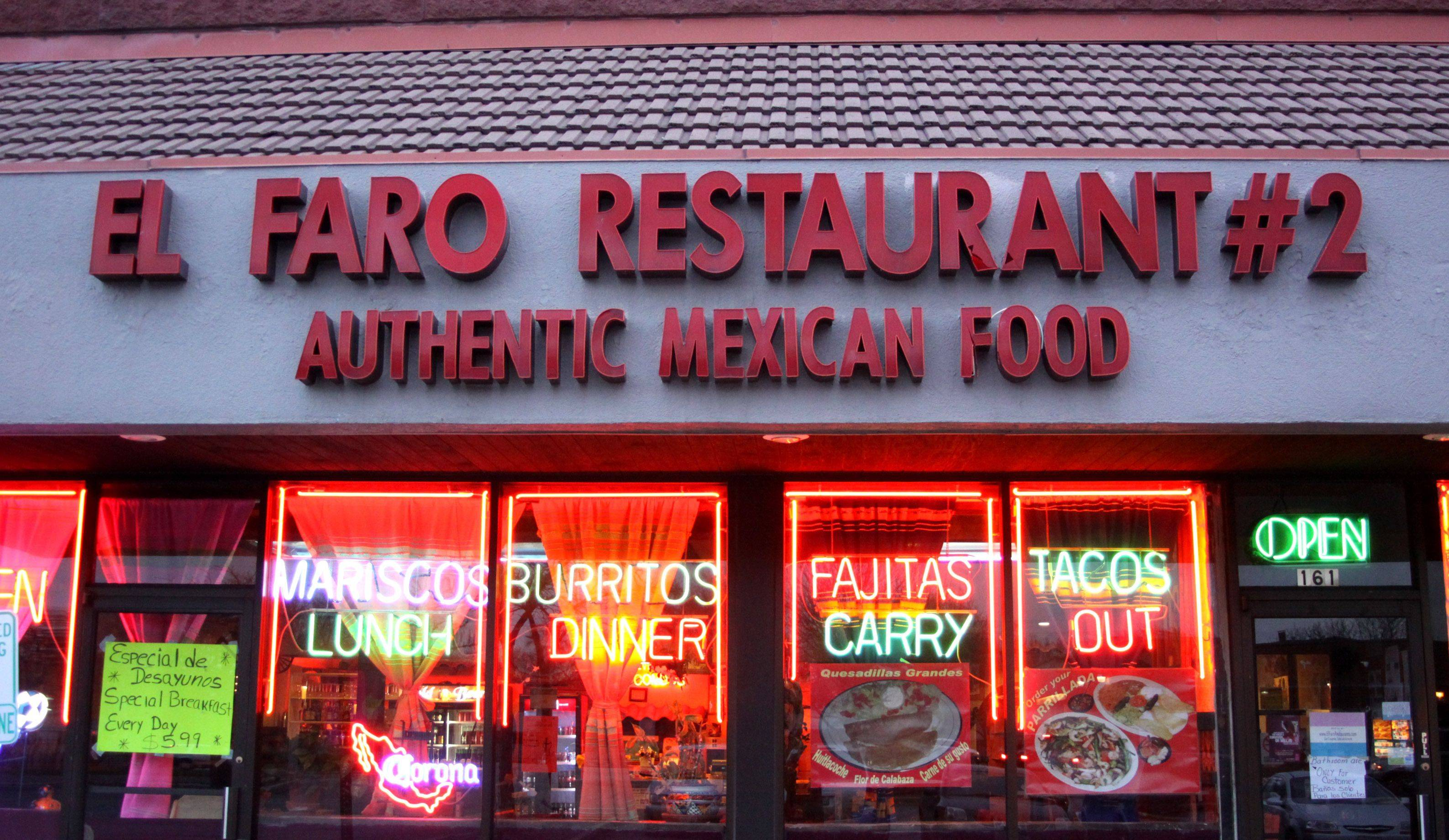The El Faro Restaurant #2 is on Lake Street in Bartlett. The locally owned chain has several outlets in the Western suburbs.