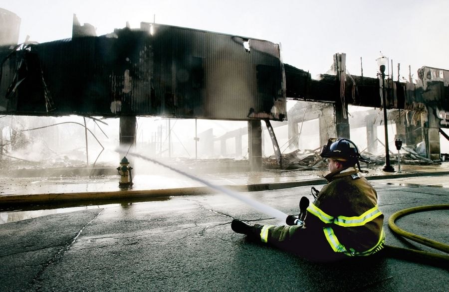 Waukegan Salvation Army store destroyed by fire