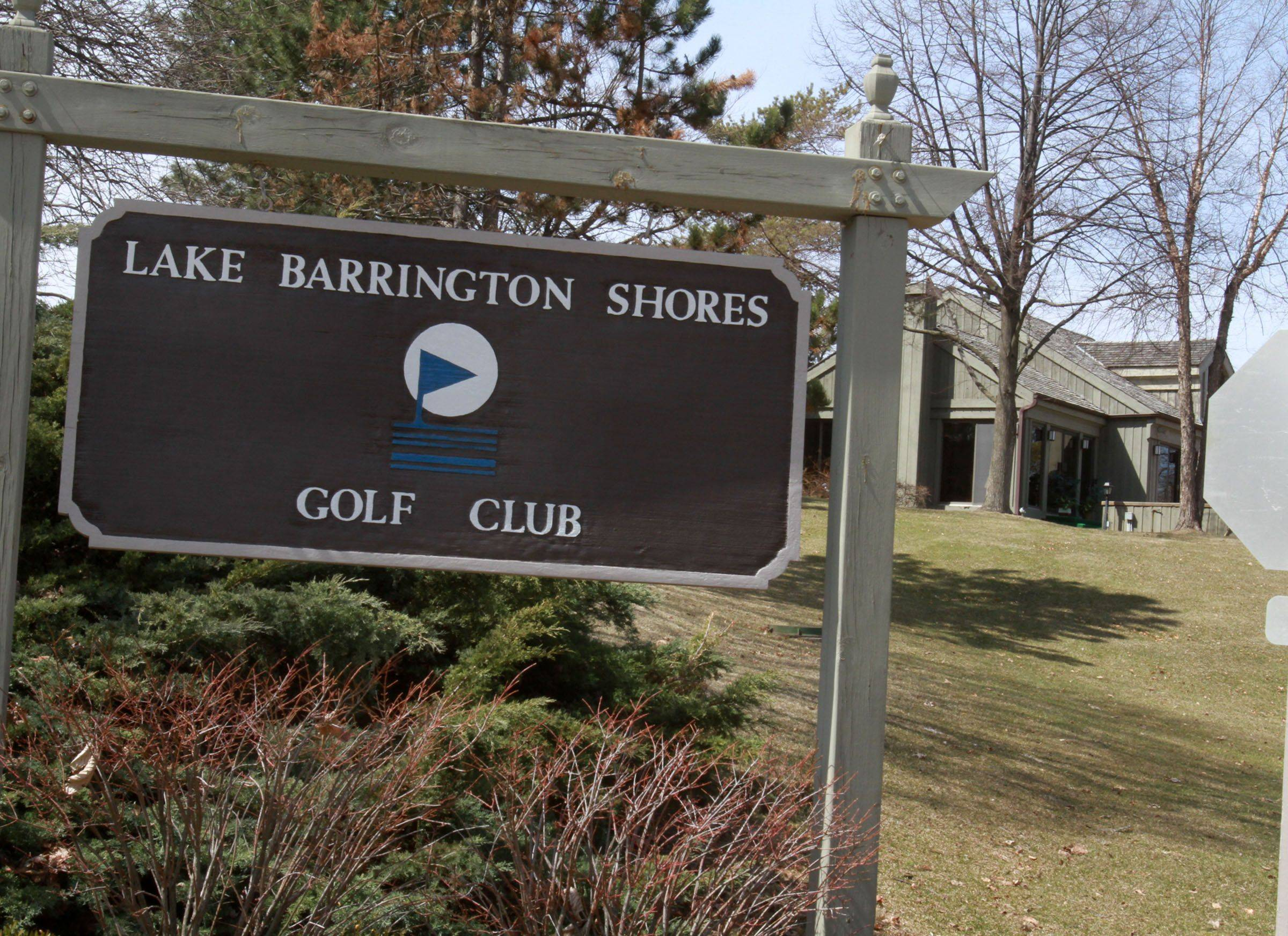 The Lake Barrington Shores Homeowners Association is considering whether to buy the recently foreclosed Lake Barrington Shores Golf Club.
