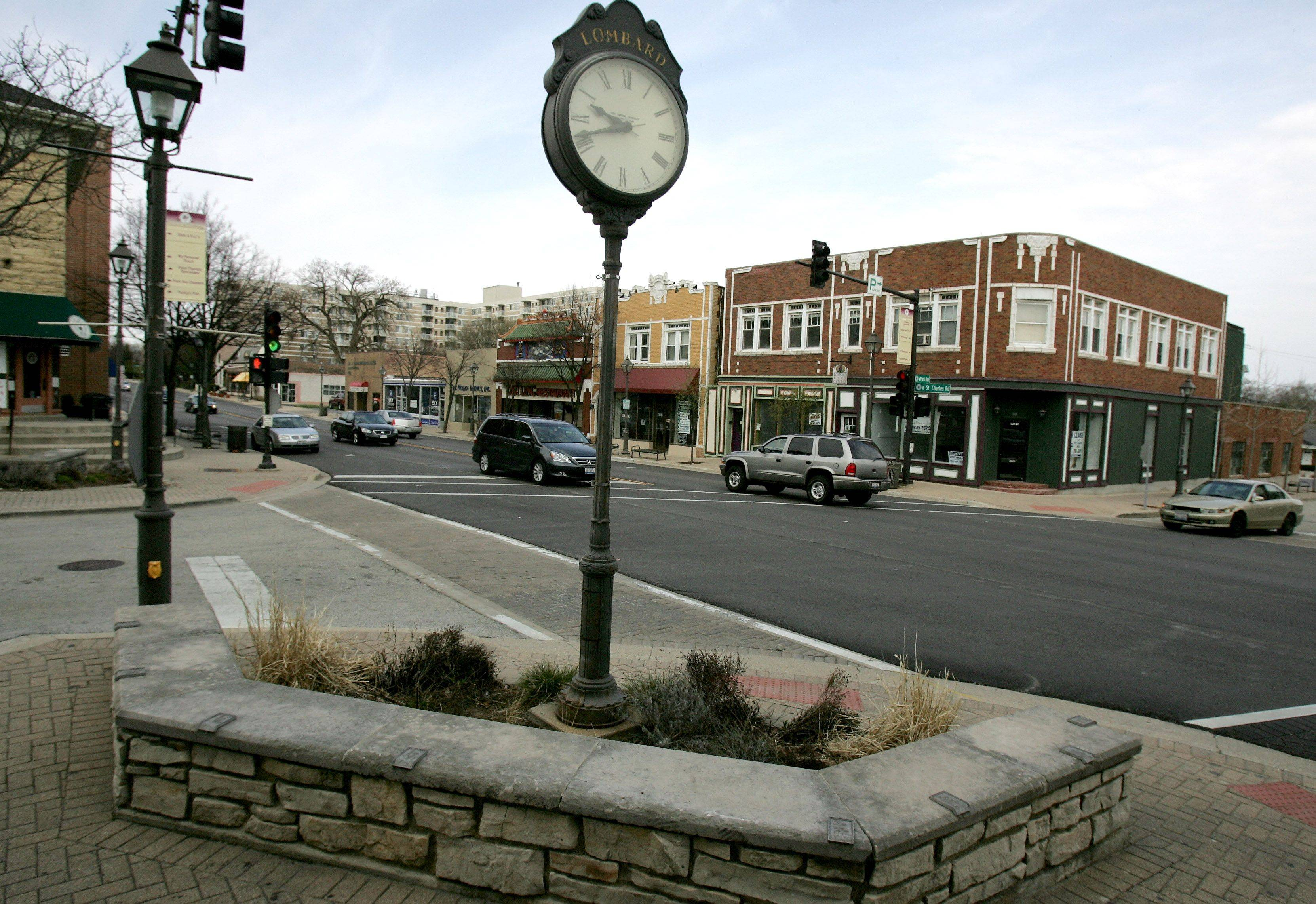 The Lilac Village now has a plan to revitalize downtown Lombard, but the area still has some vacant storefronts to fill.